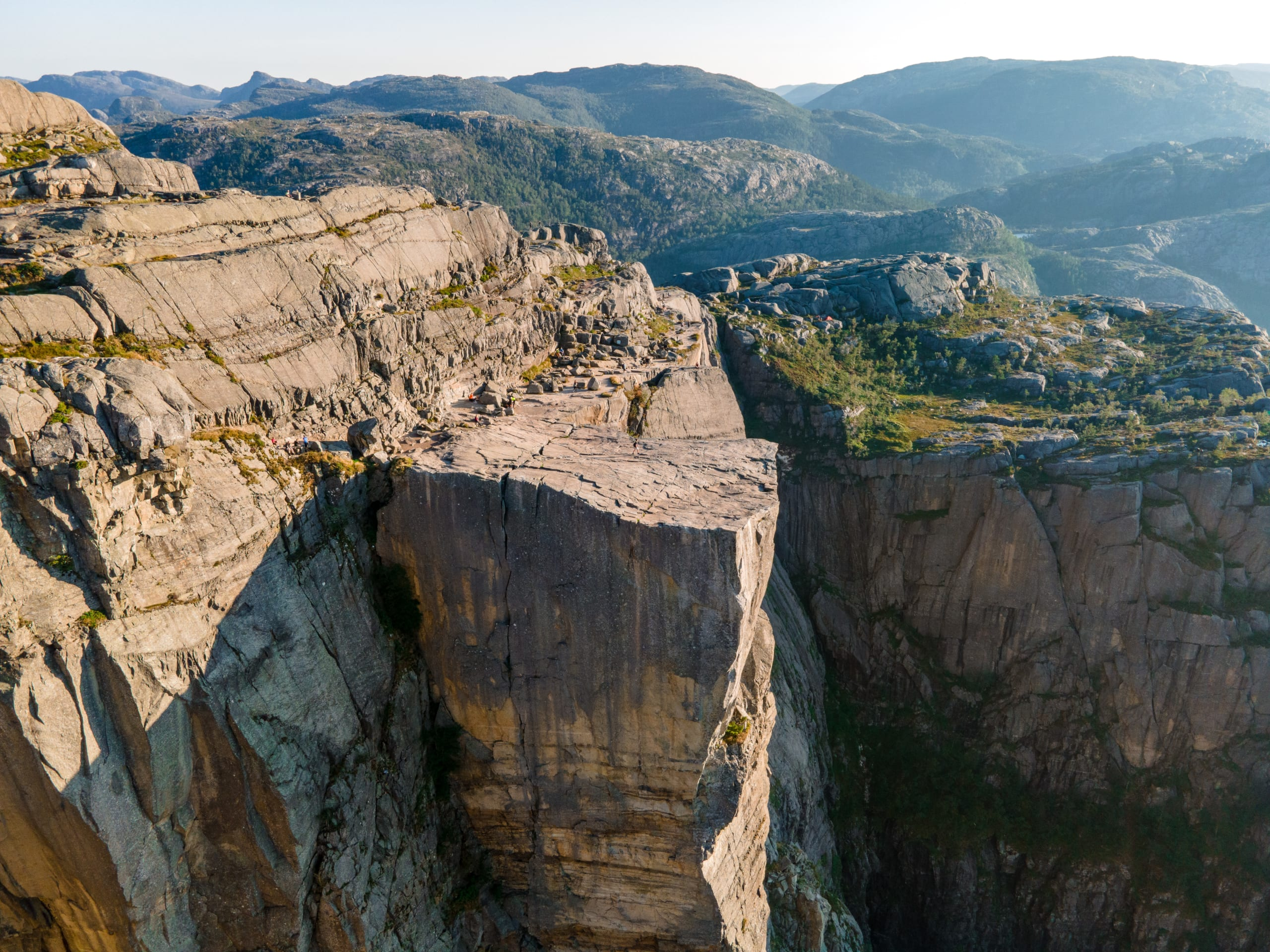 Preikestolen mountain plateau