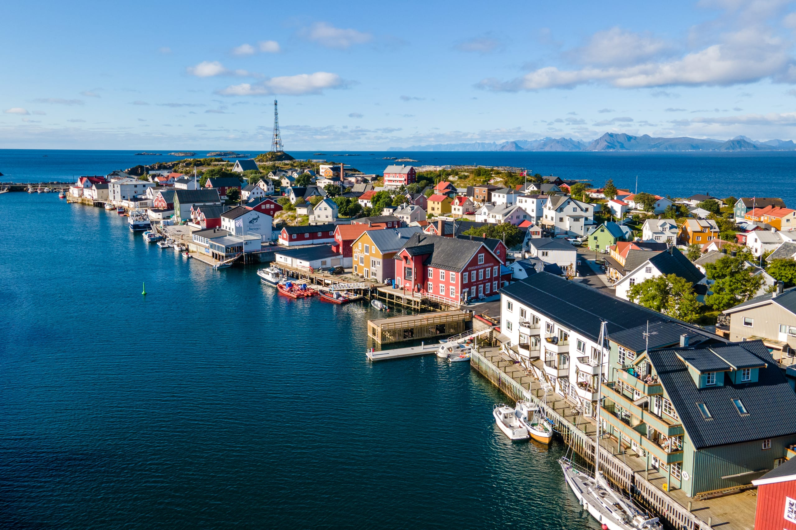 Fishing village of Henningsvær in Lofoten