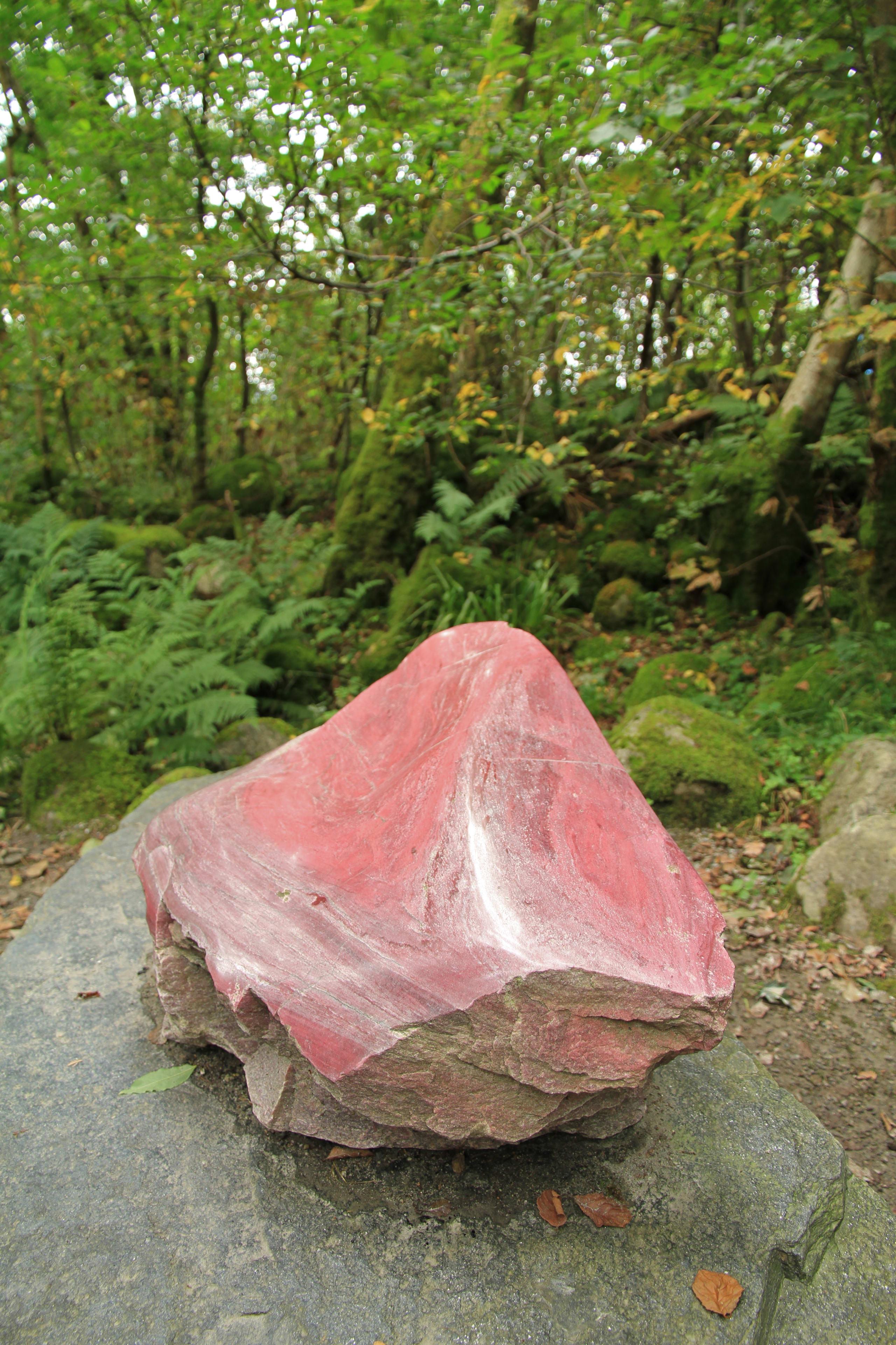 Stone park in Rosendal
