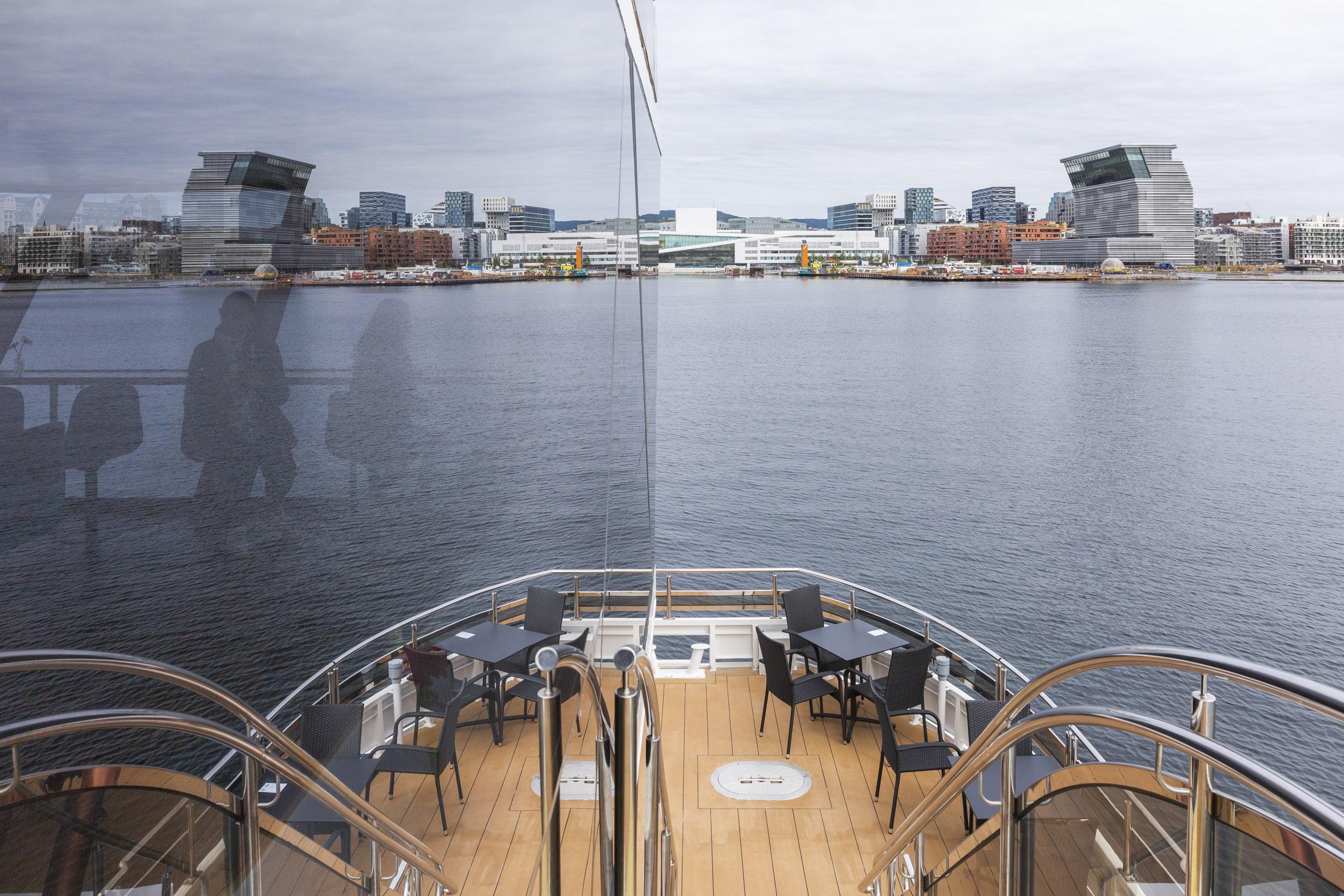 Brim sailing in Oslofjorden