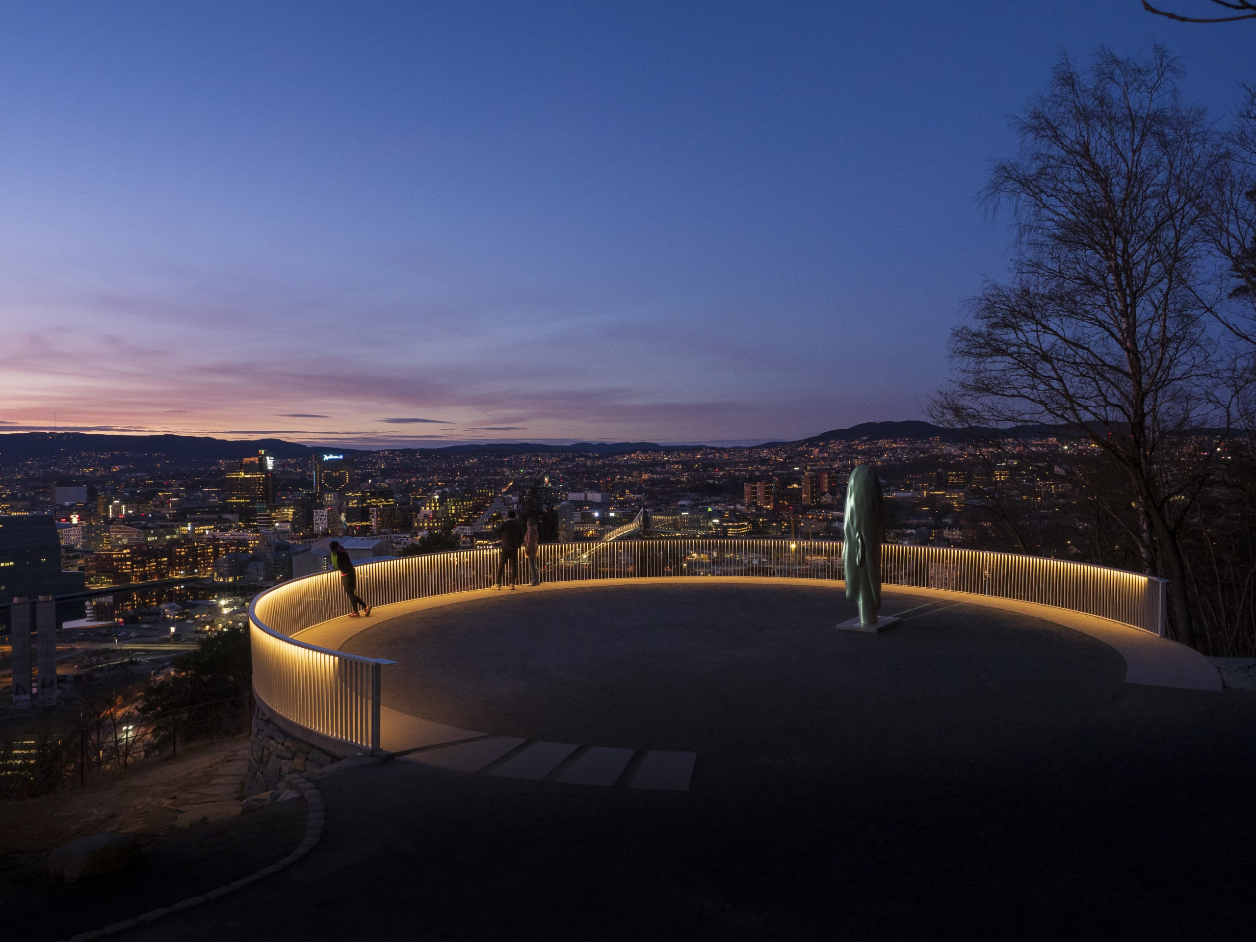 Ekeberg skulpture park in Oslo