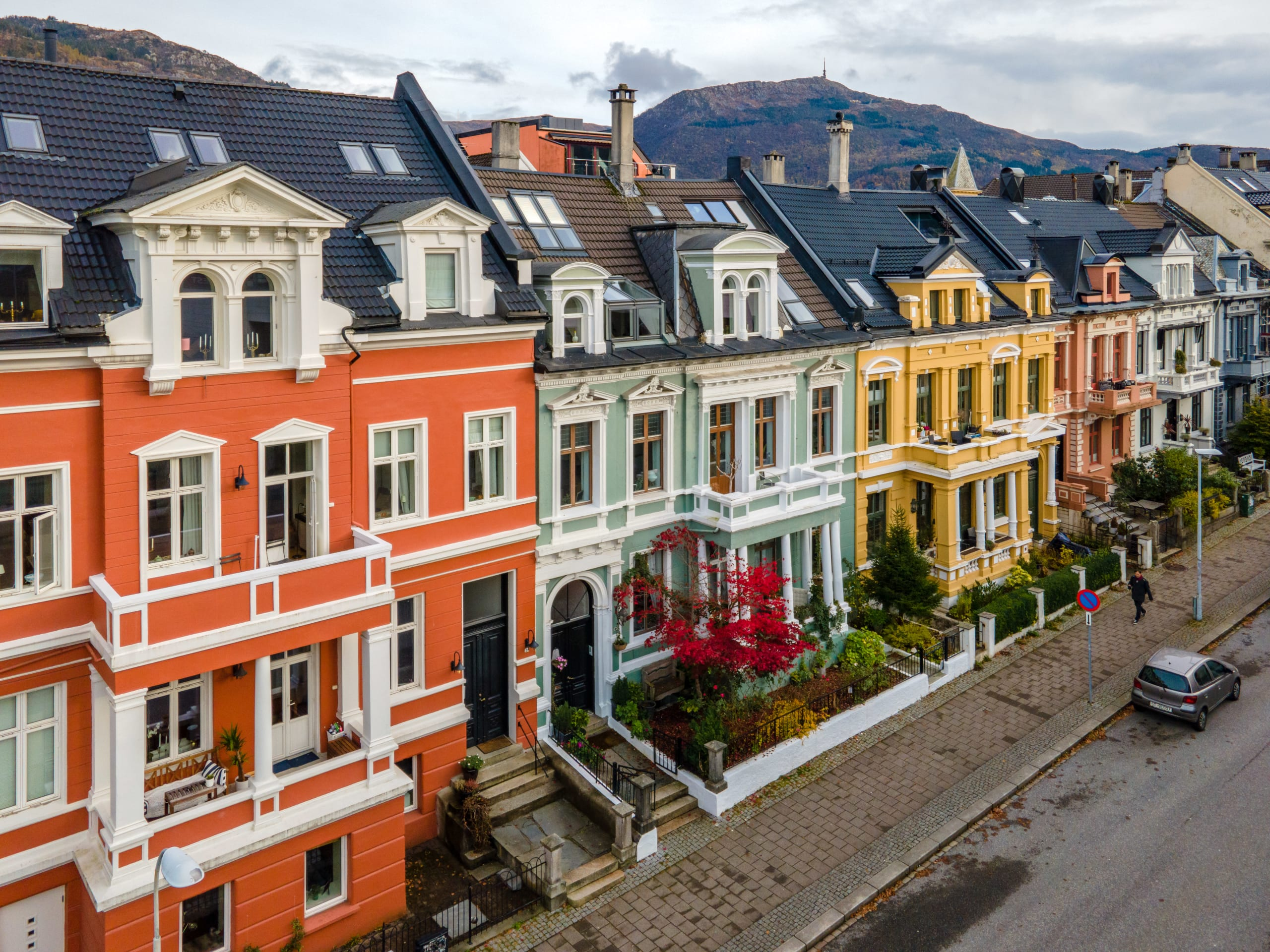 The Bergen equivalent to the Painted Ladies in San Francisco