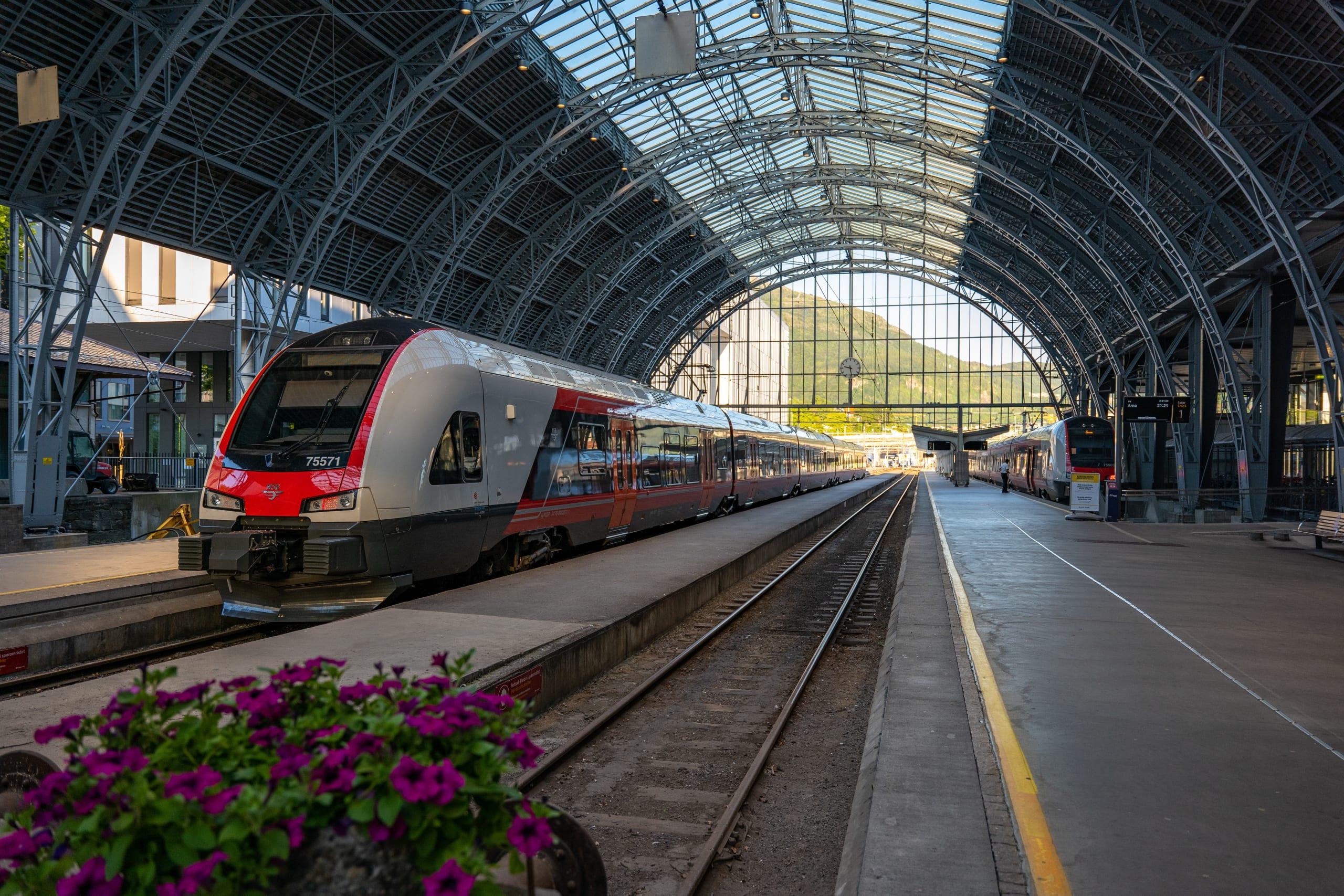 Bergen railway station