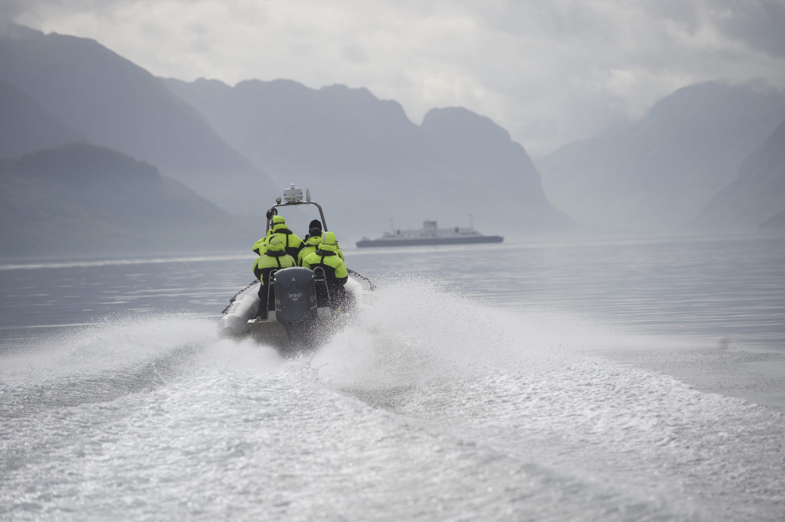 Rib safari on the Lysefjord