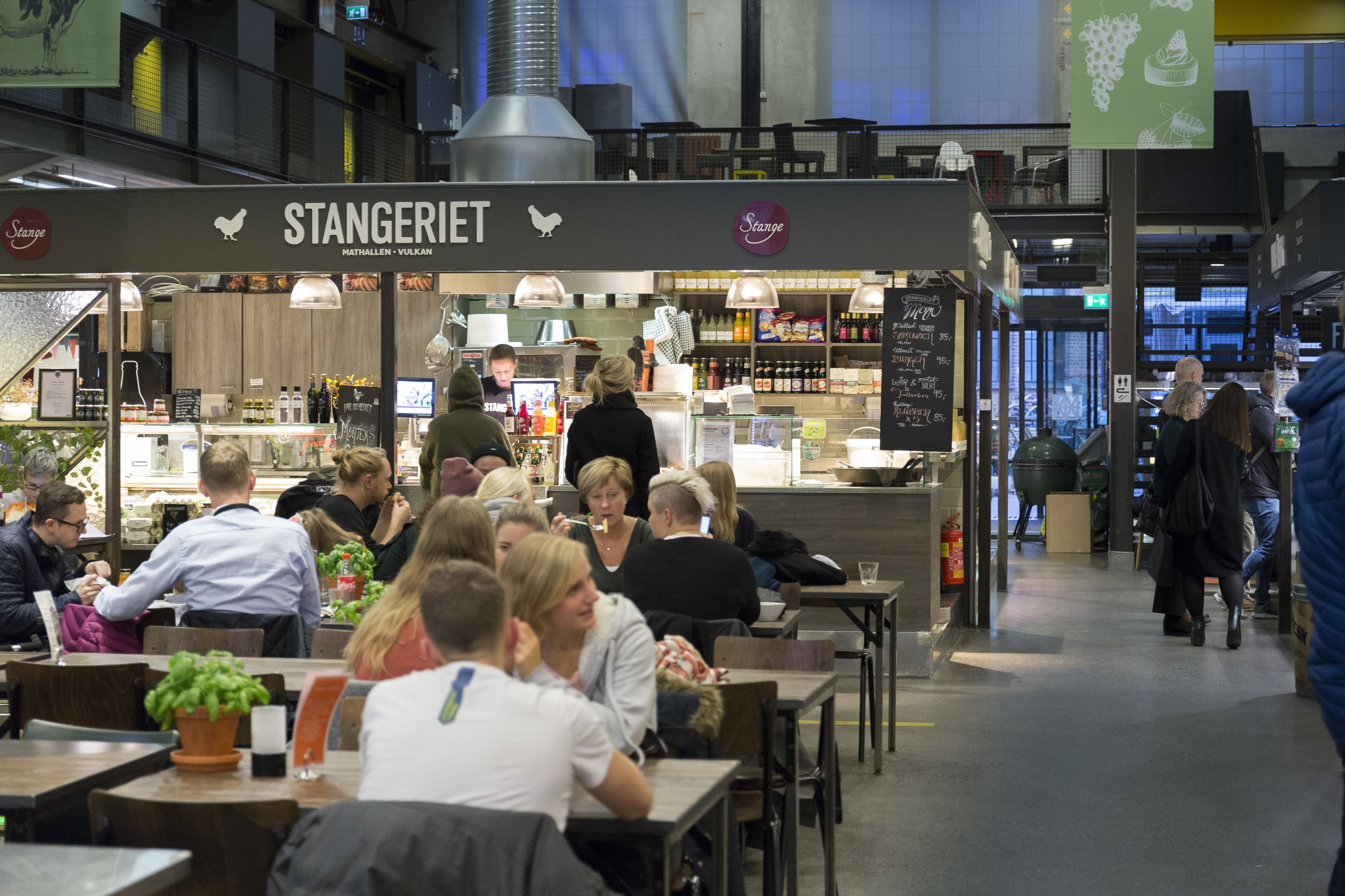 Oslo Food Hall