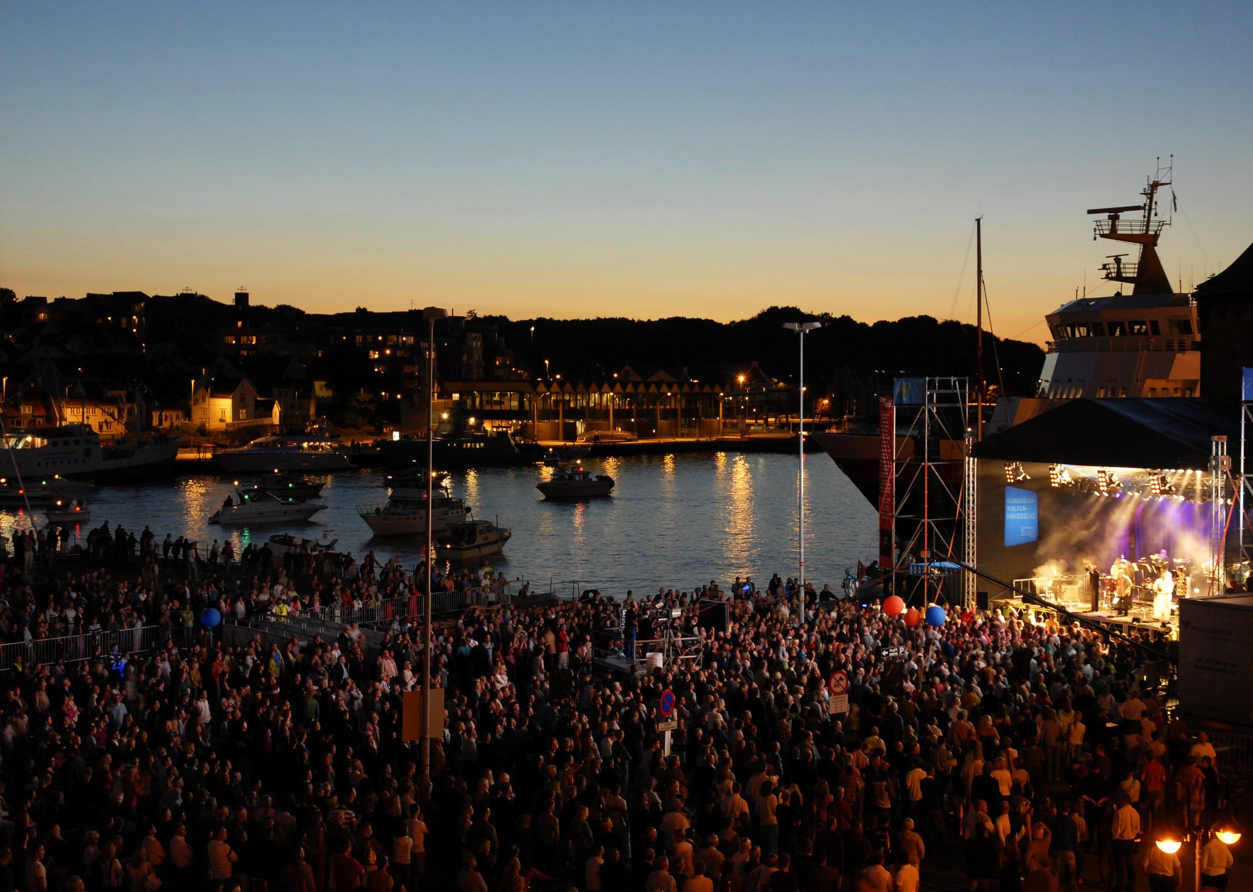 Music festival in Stavanger