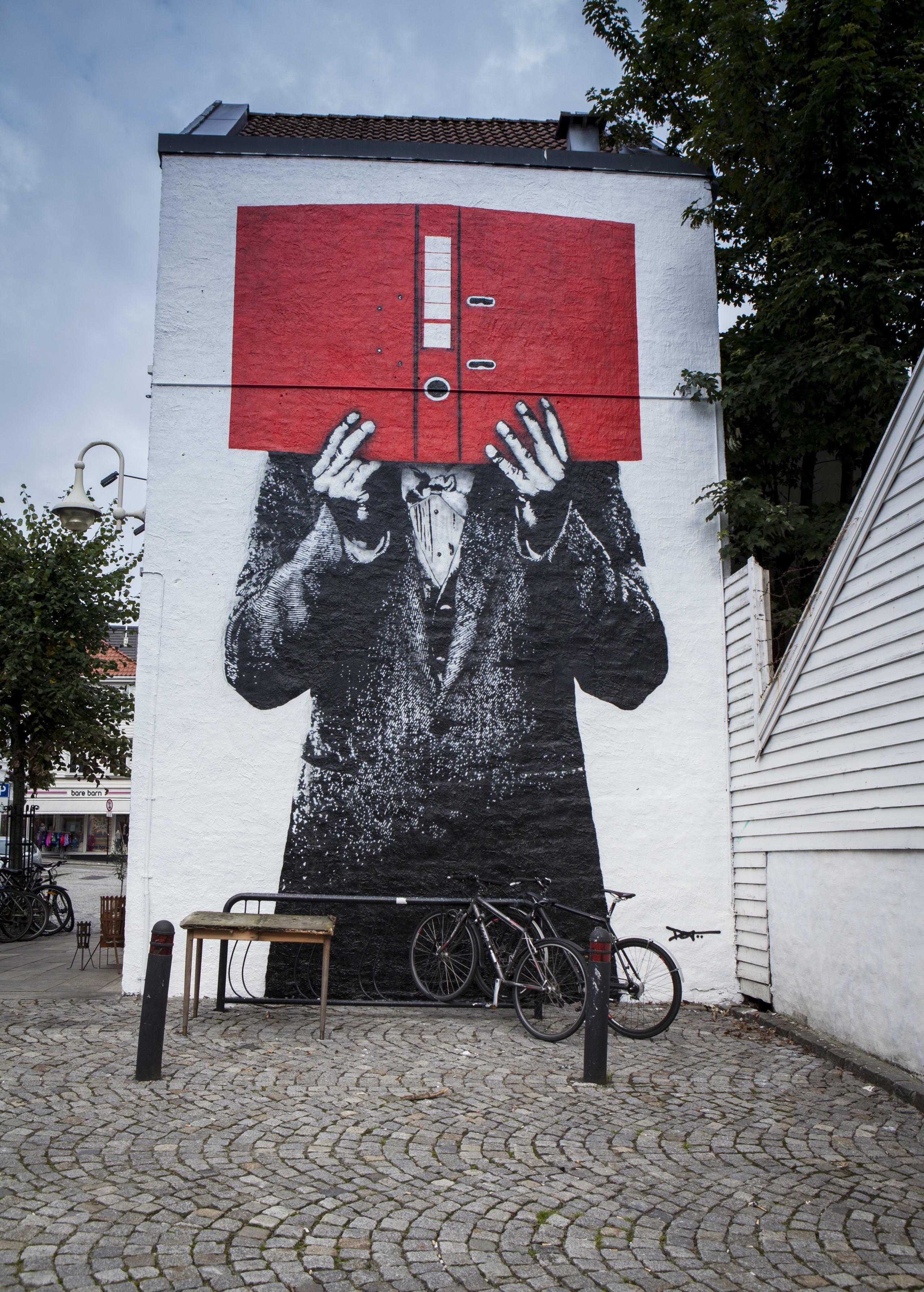 Street art festival in Stavanger
