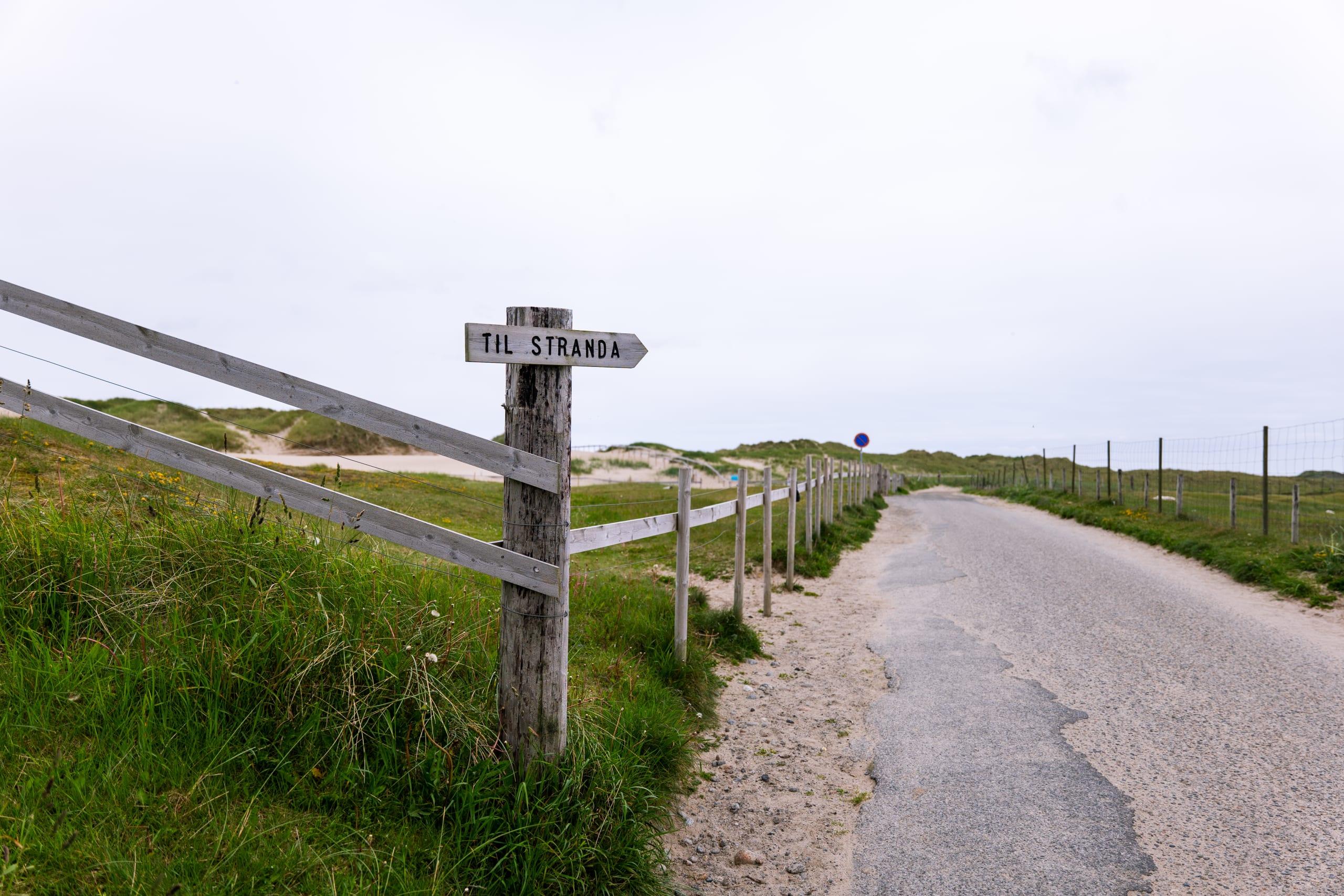 Borestranden beach in Stavanger
