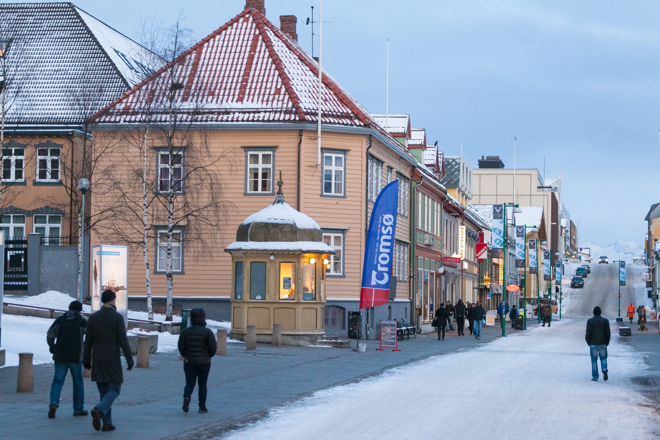 The main street of Tromsø, Storgata
