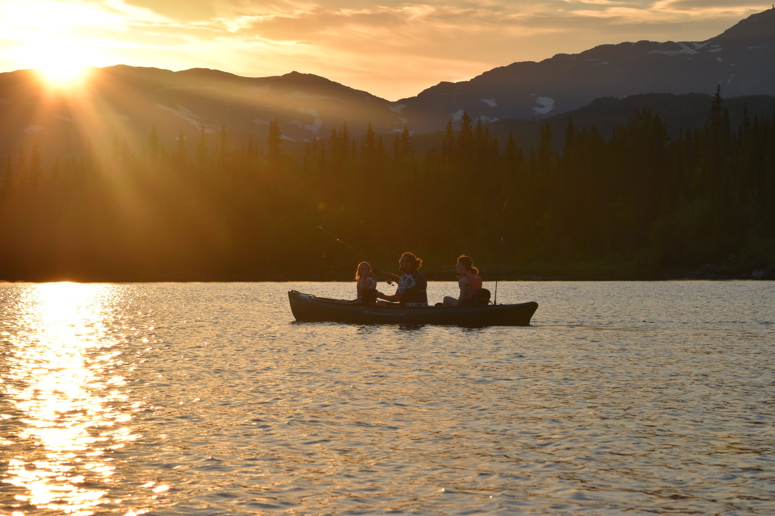 Family-Friendly Guided Canoe Tour at Beitostølen