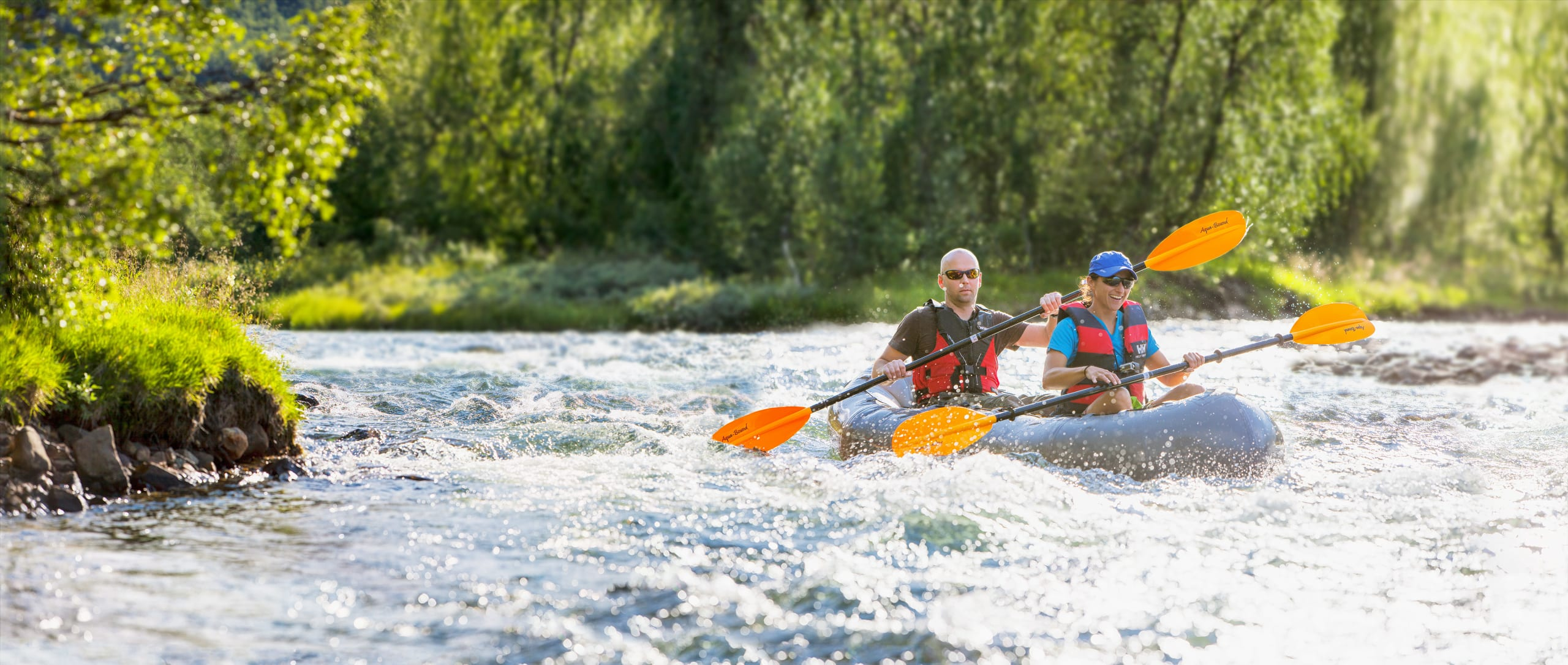 River rafting at Beitostølen and Jotunheimen