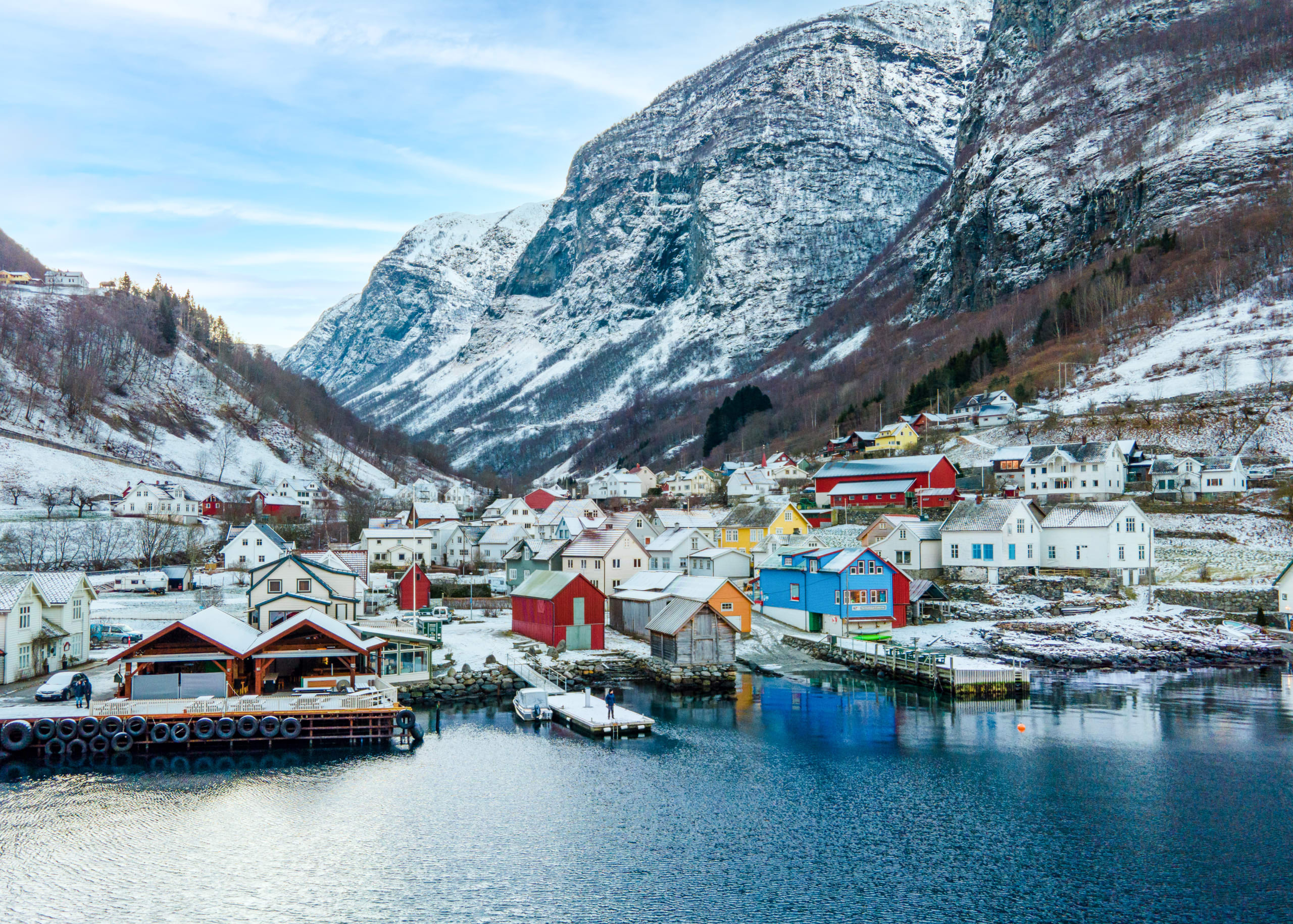 Undredal at winter