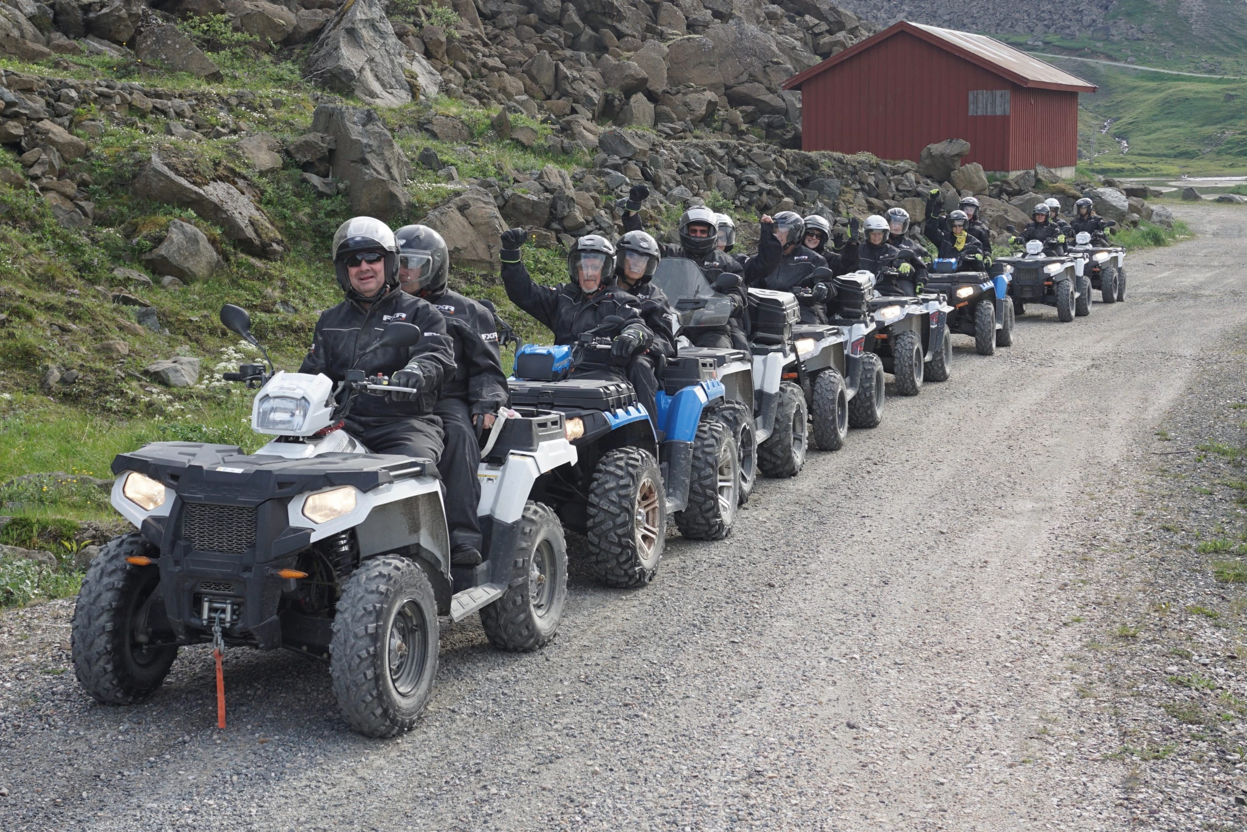 ATV safari to a NATO mountain