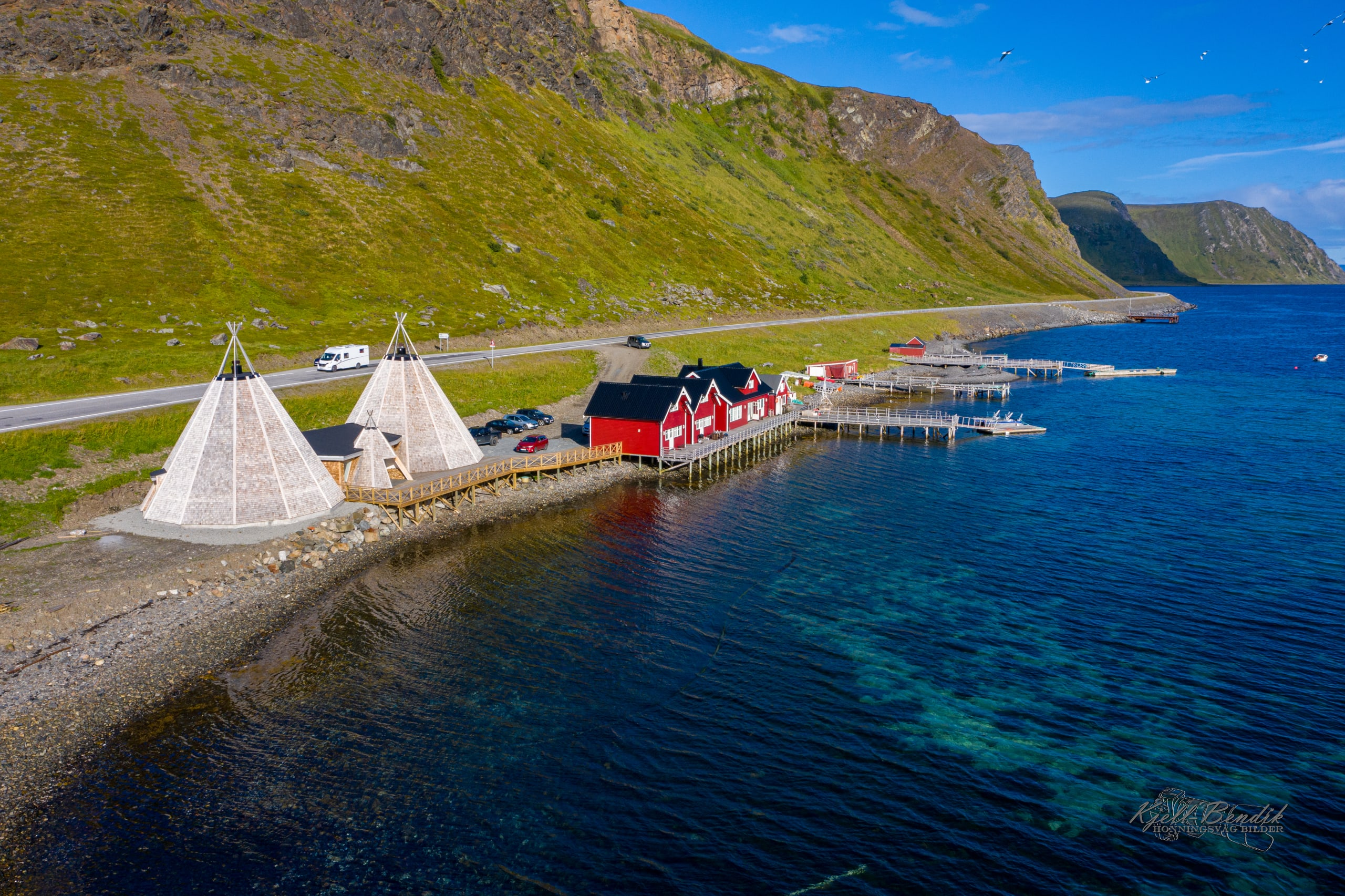 Sarnes facilities at Honningsvåg