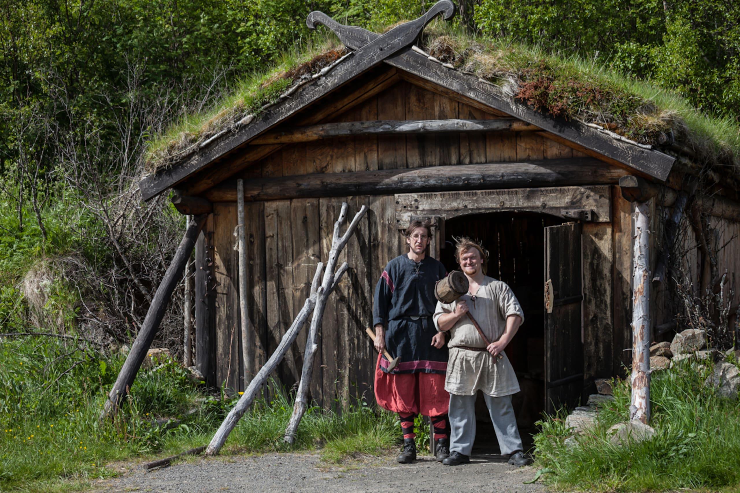 Lofotr Viking museum in Lofoten