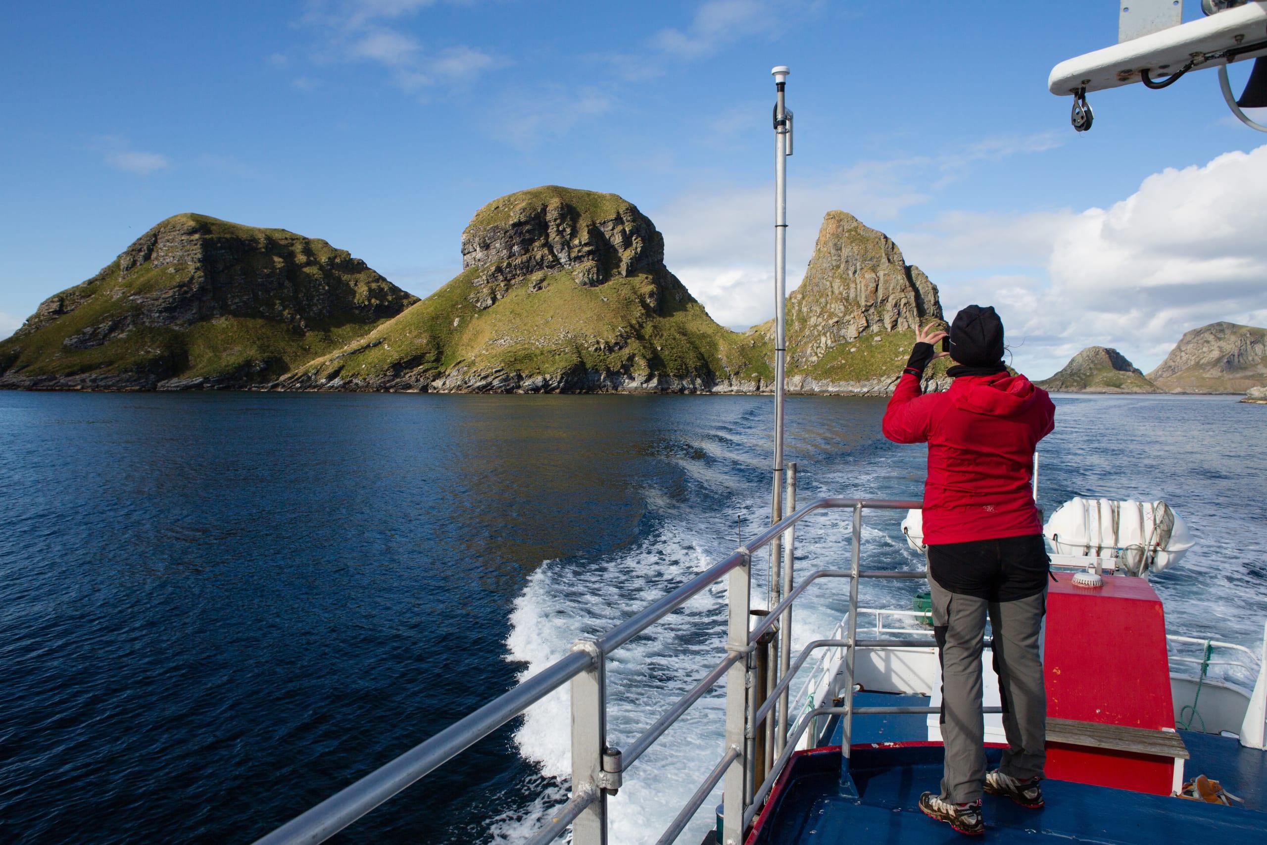 Sightseeing to Røst bird Island