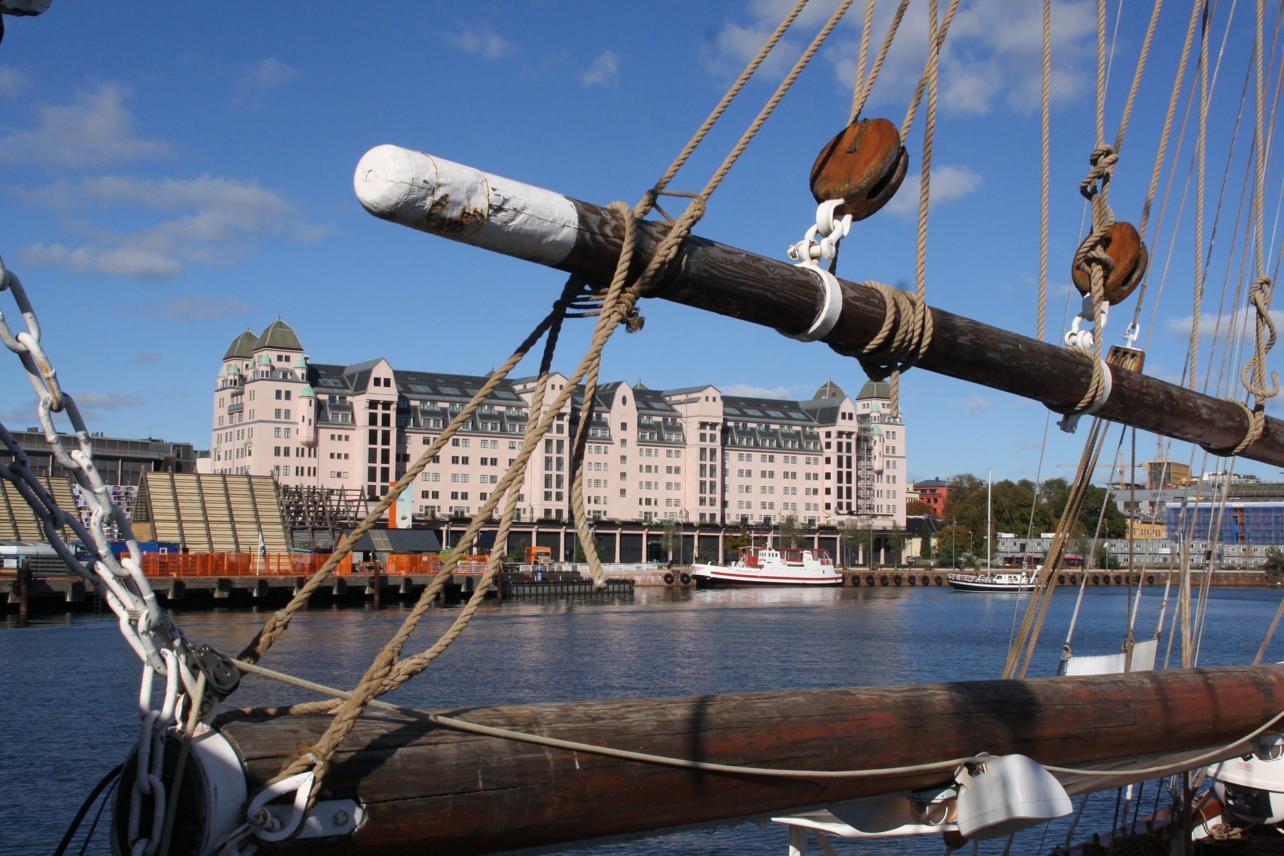Views on the Oslofjord cruise