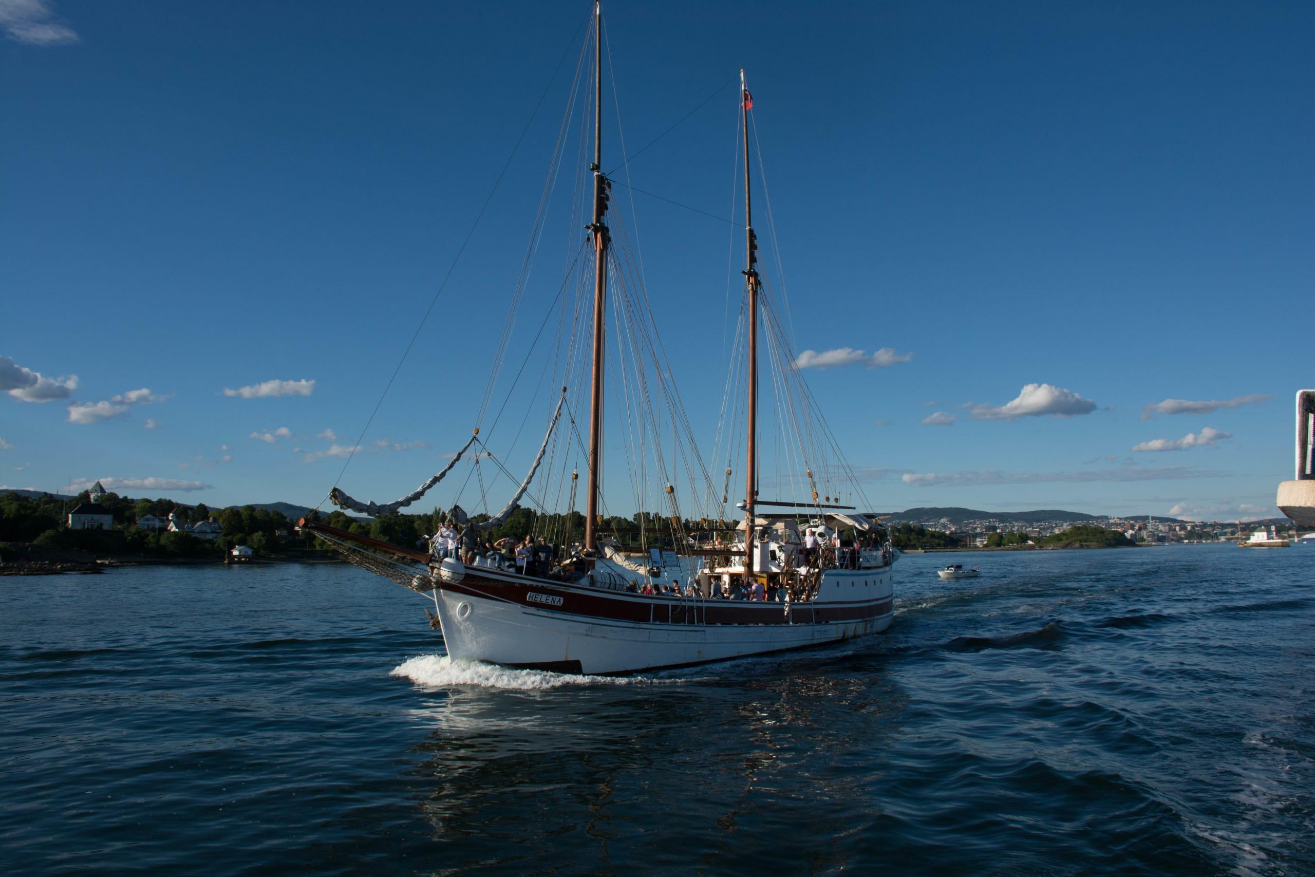 Sailship on the Oslofjord