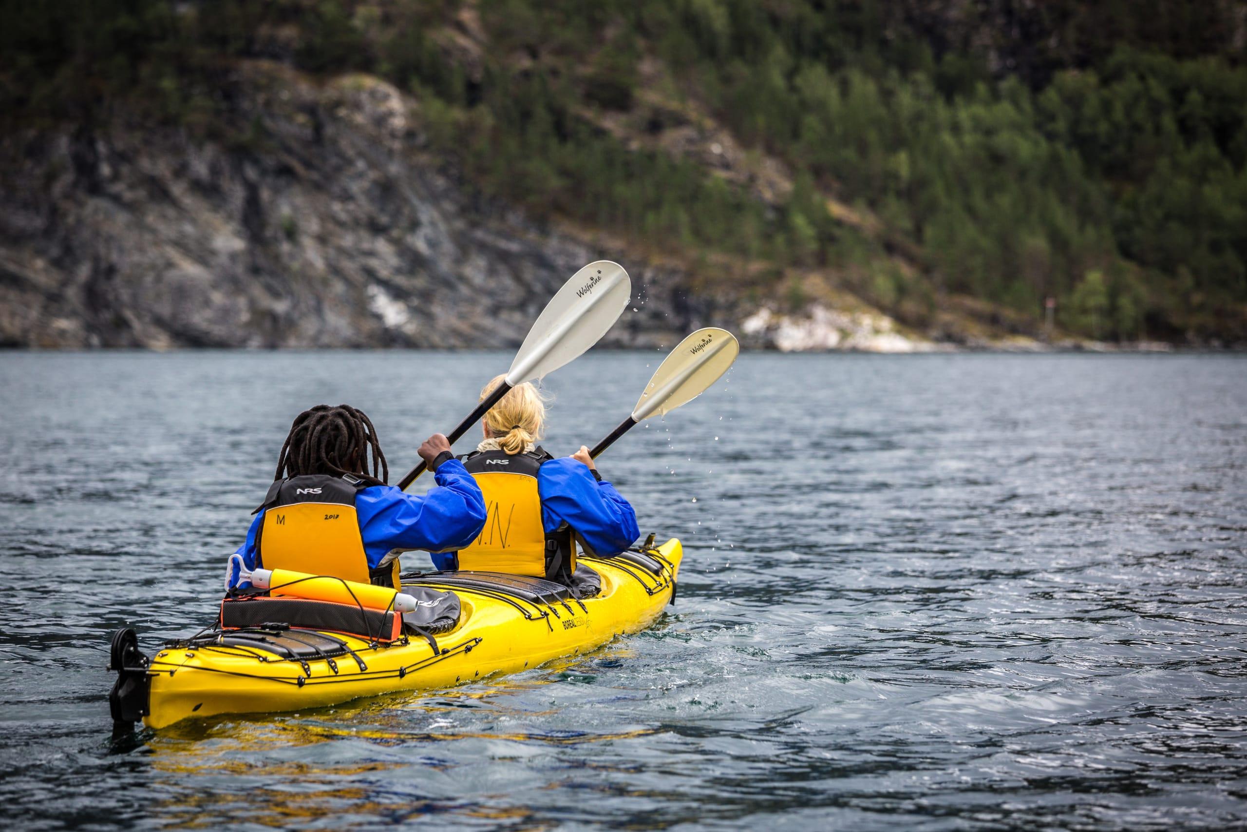 Double sea kayak for children