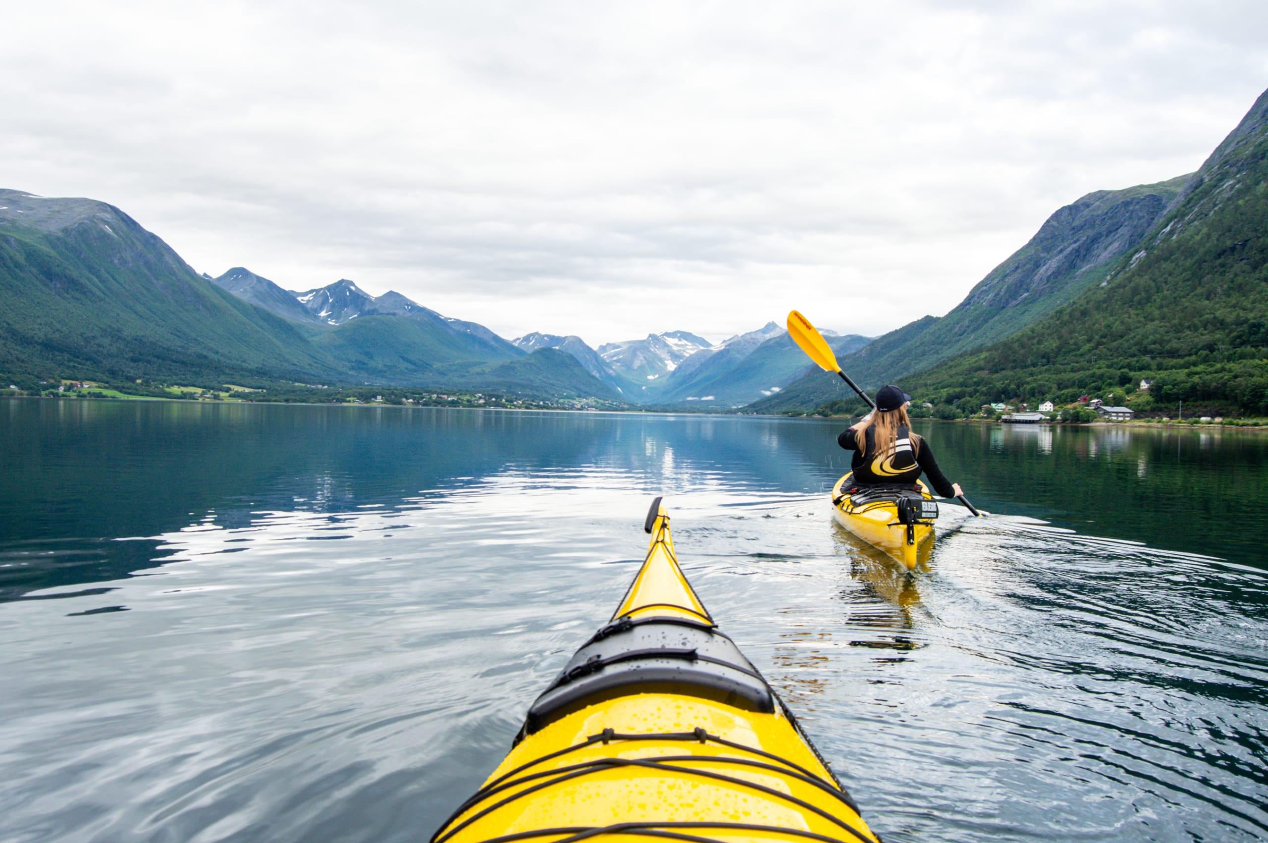 Kayaking the Åndalsnes