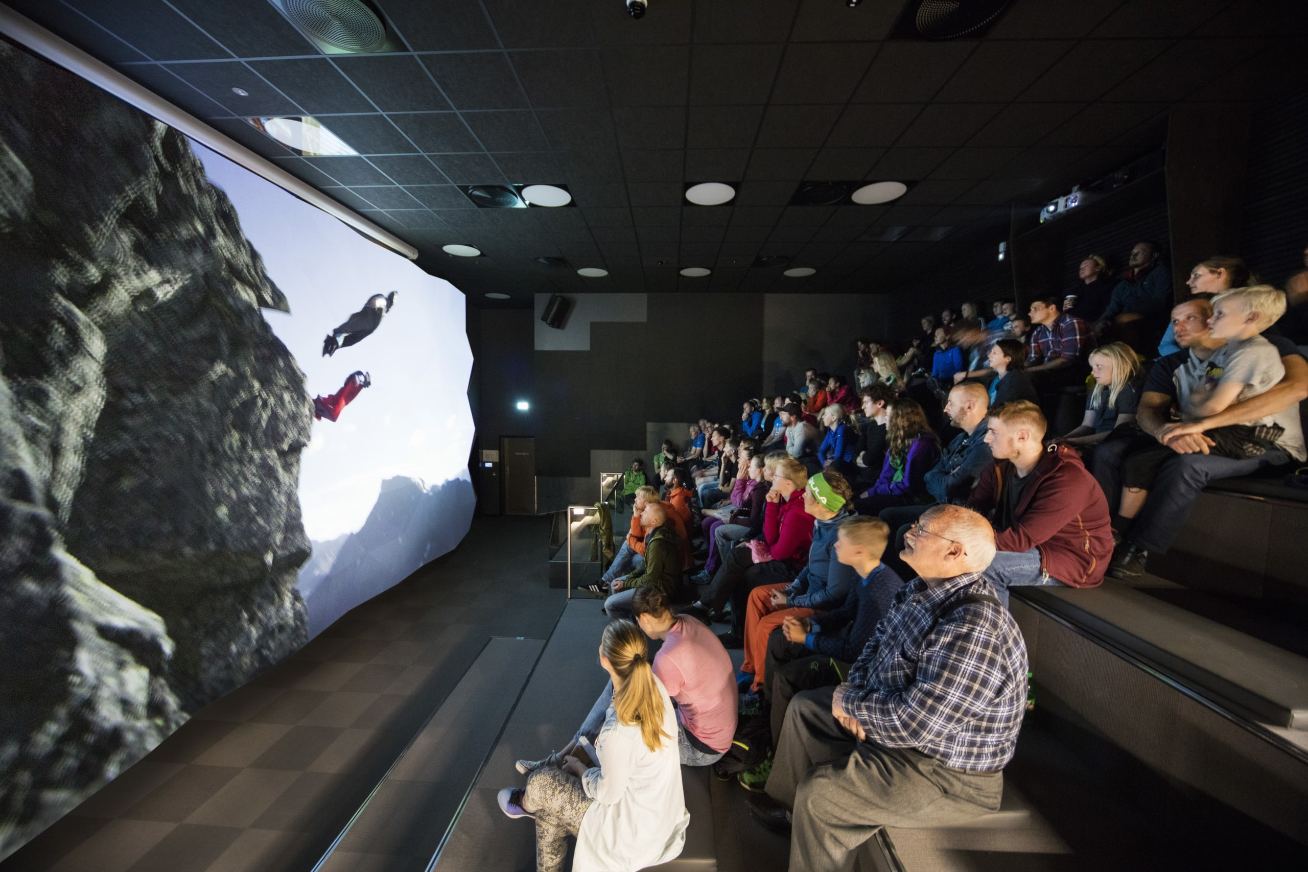 3D movie at the modern visitor center in Åndalsnes
