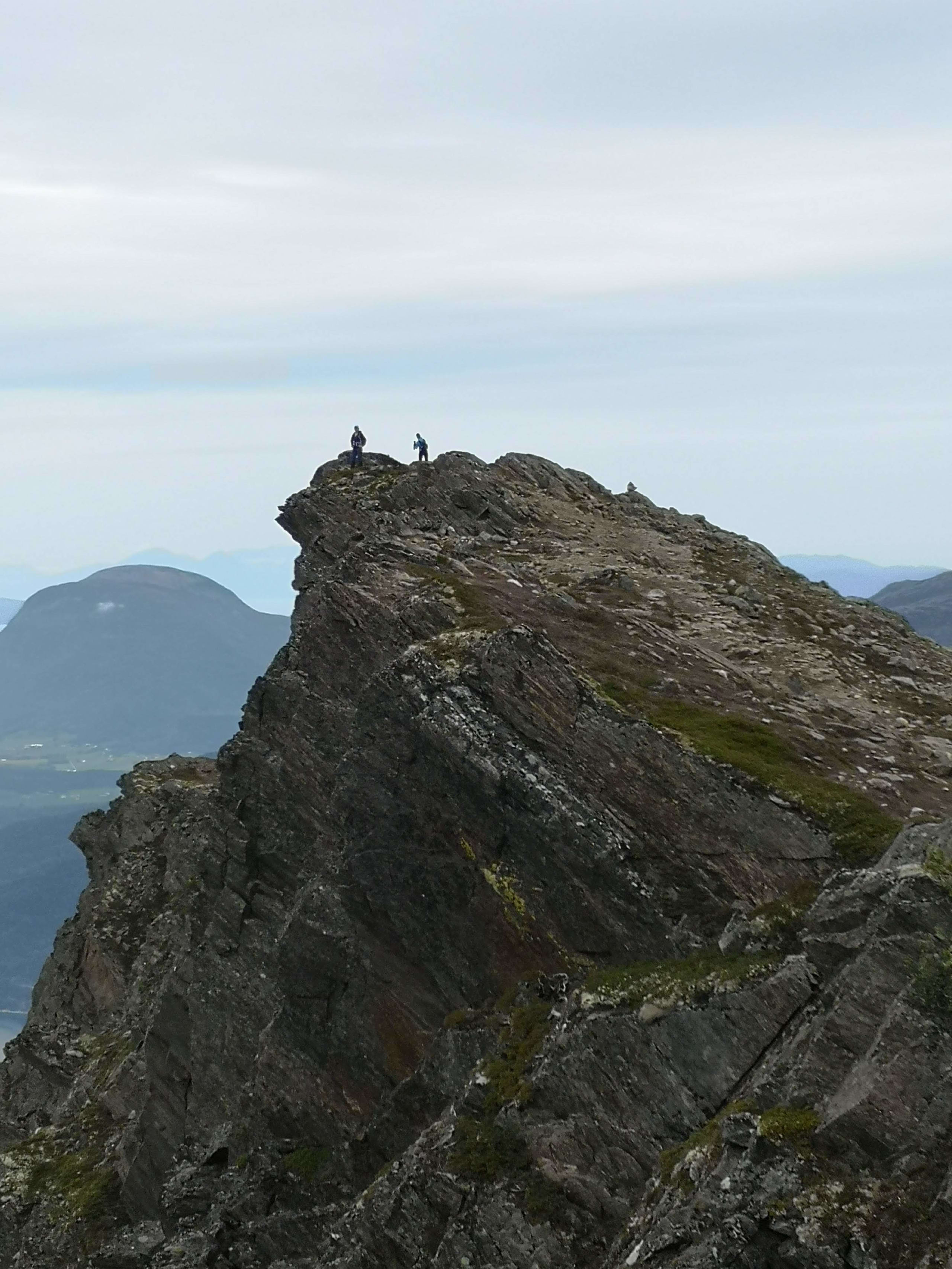 Summit of Romsdalseggen