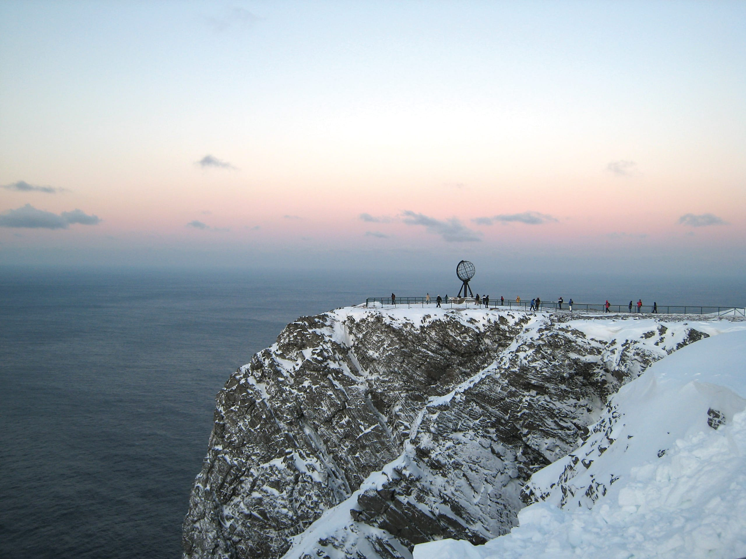 Winter at North cape