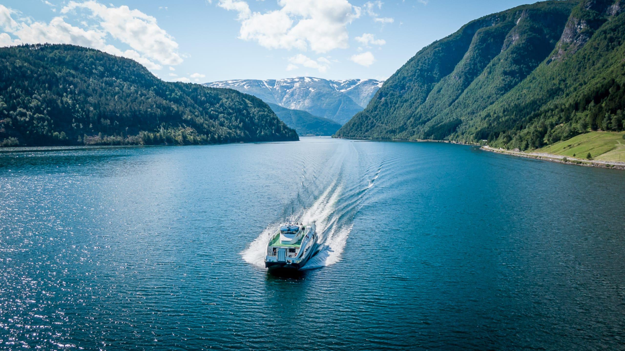 Fjord cruise on the Hardangerfjord