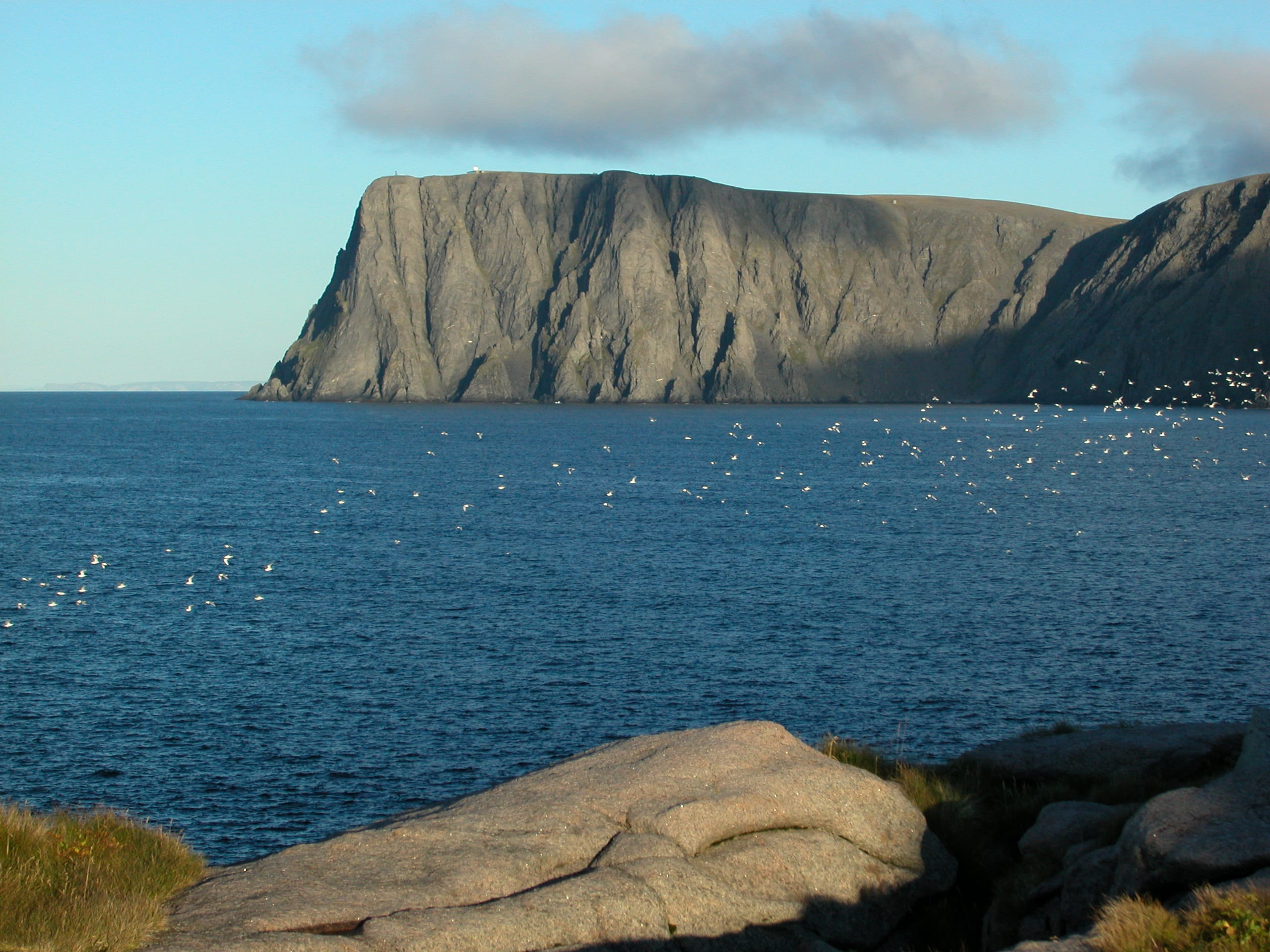 Knivskjellodden with views of North Cape