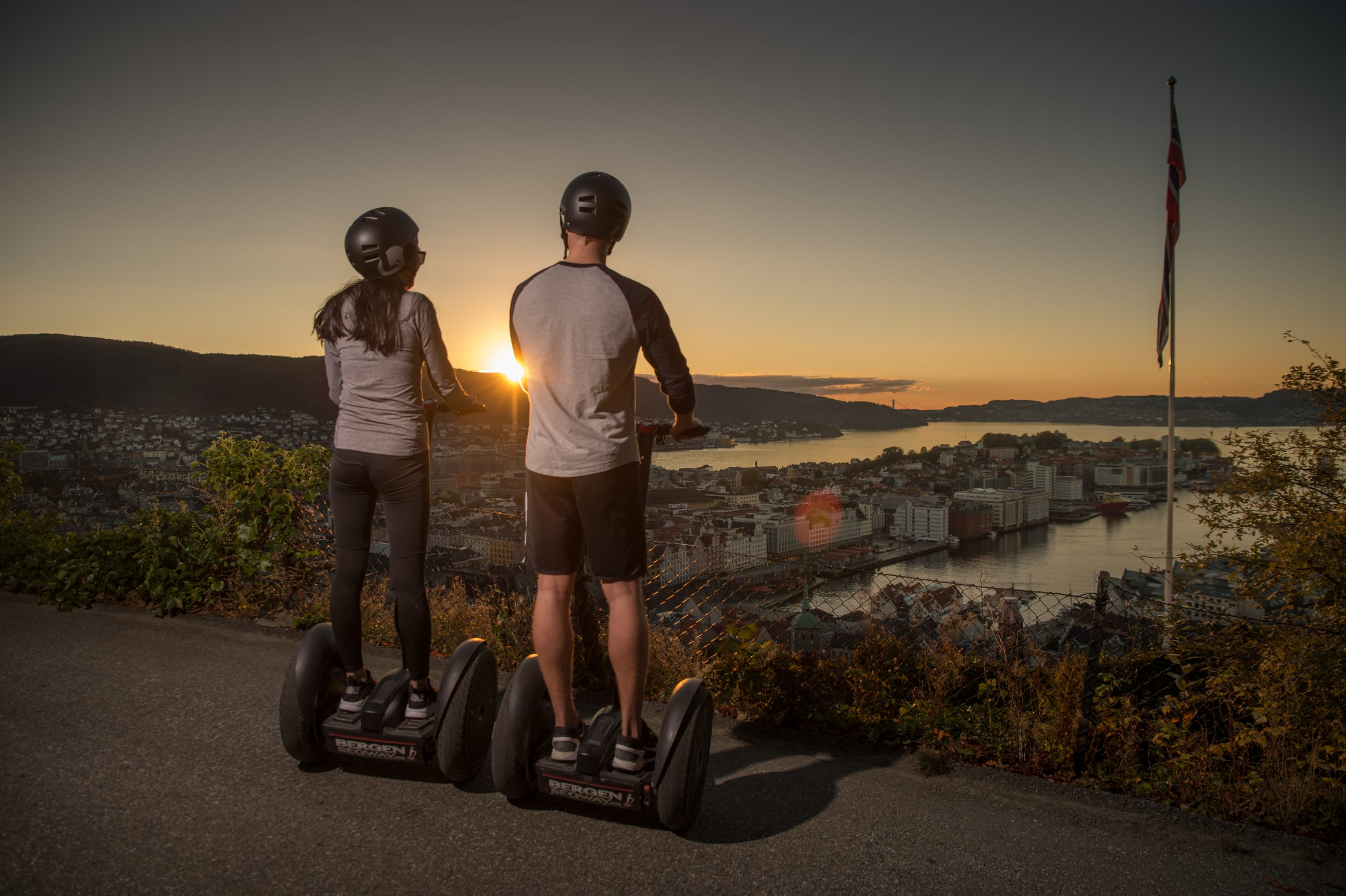 Segway tour to Fjellveien