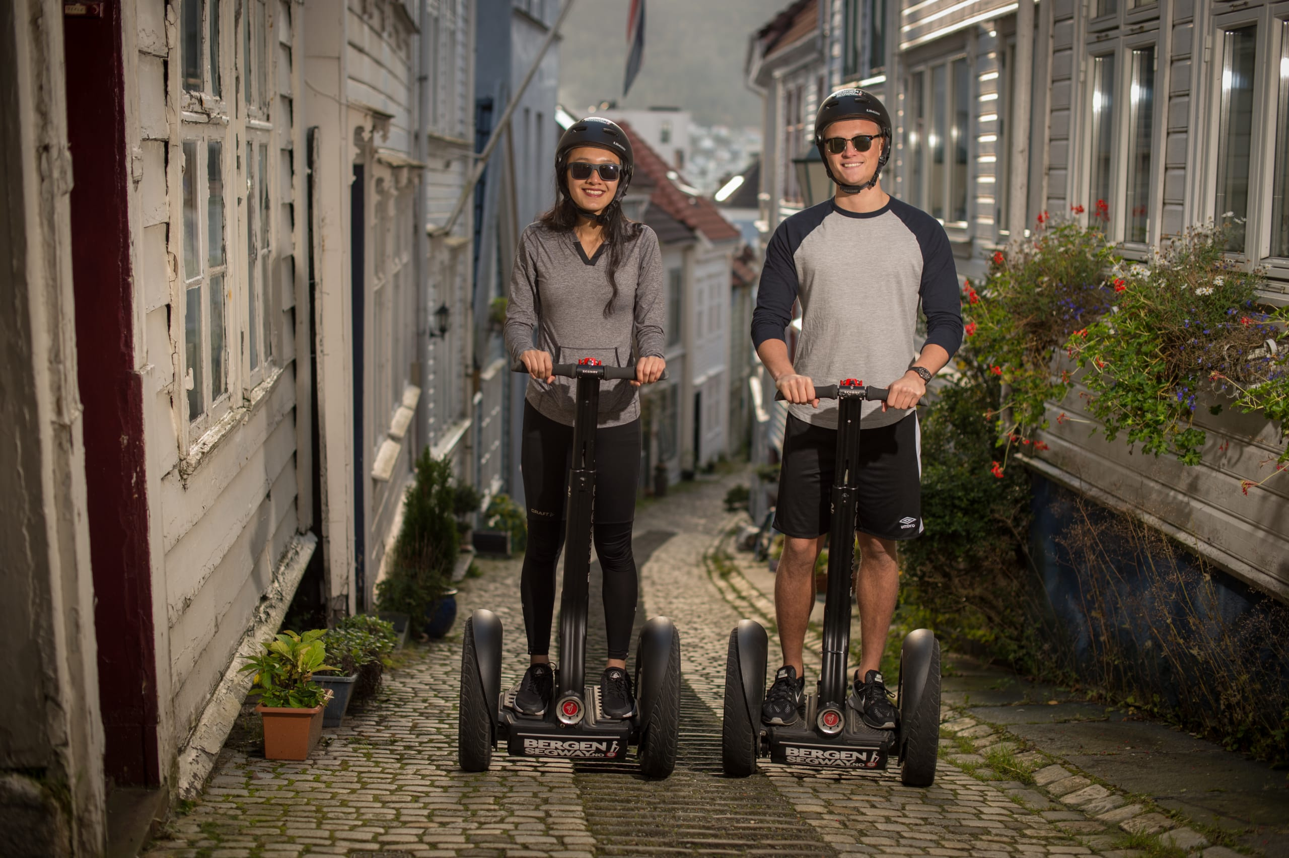 Segway tour in the old parts of Bergen
