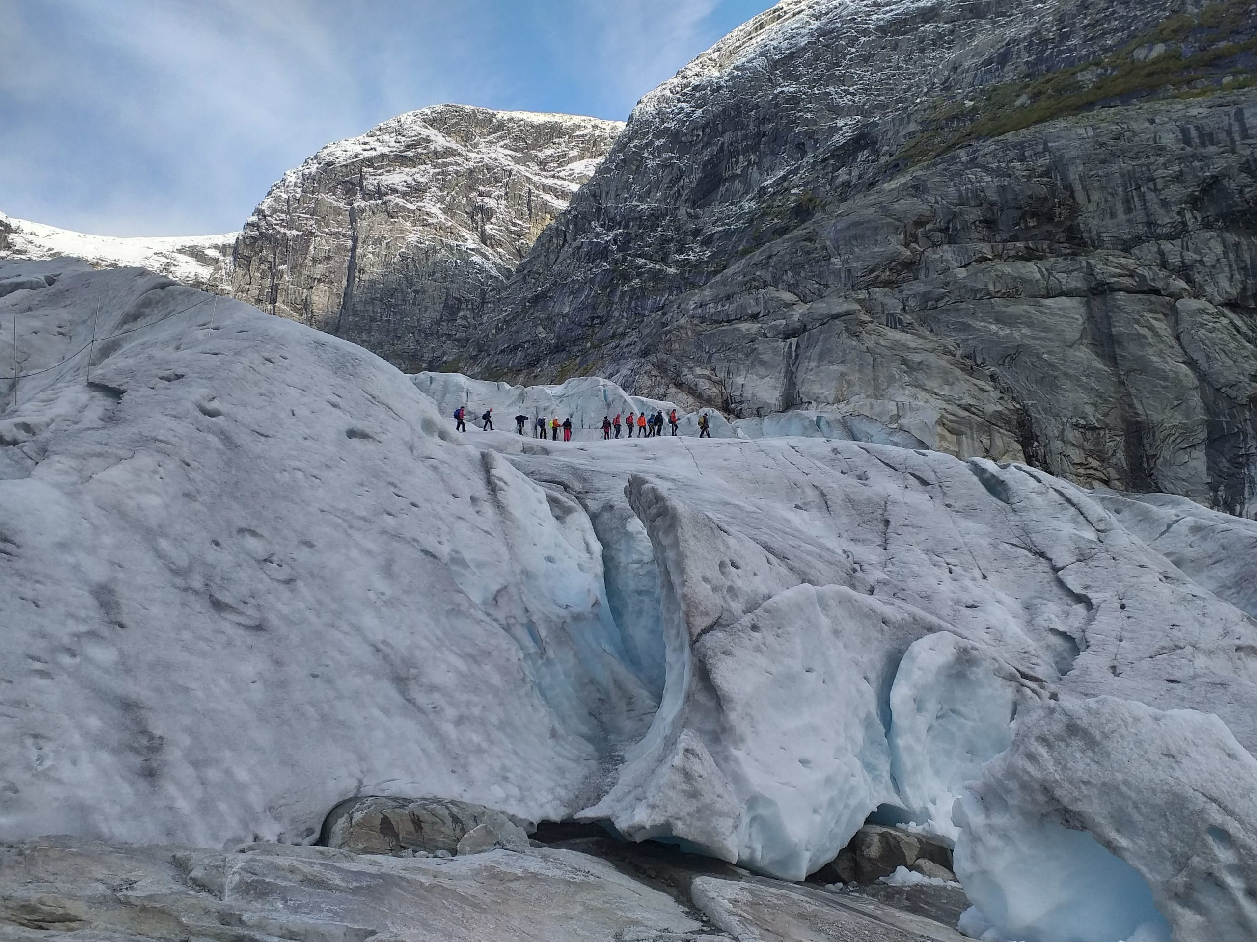 Glacier hike at Nigardsbreen