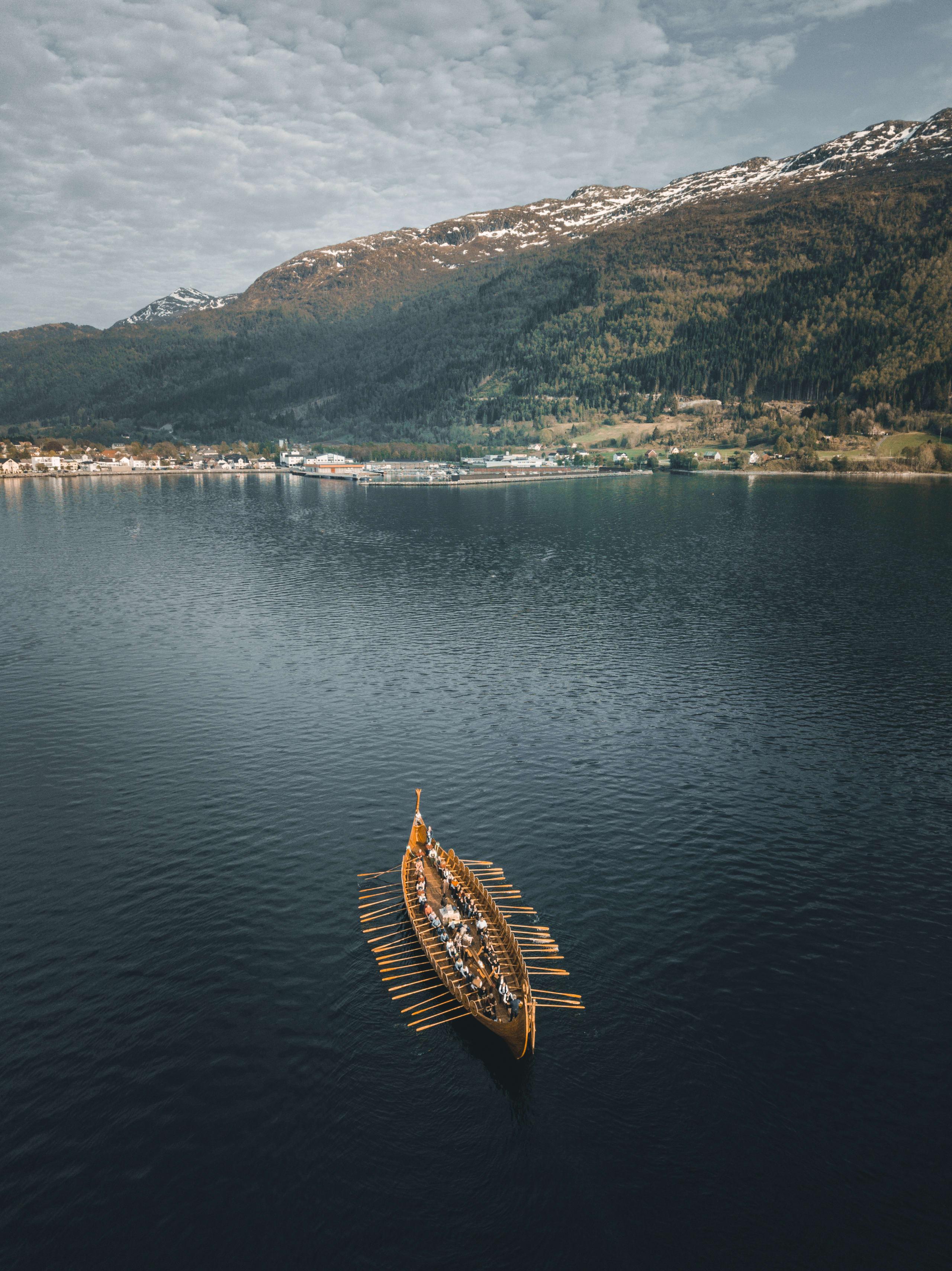 Sagastad viking ship