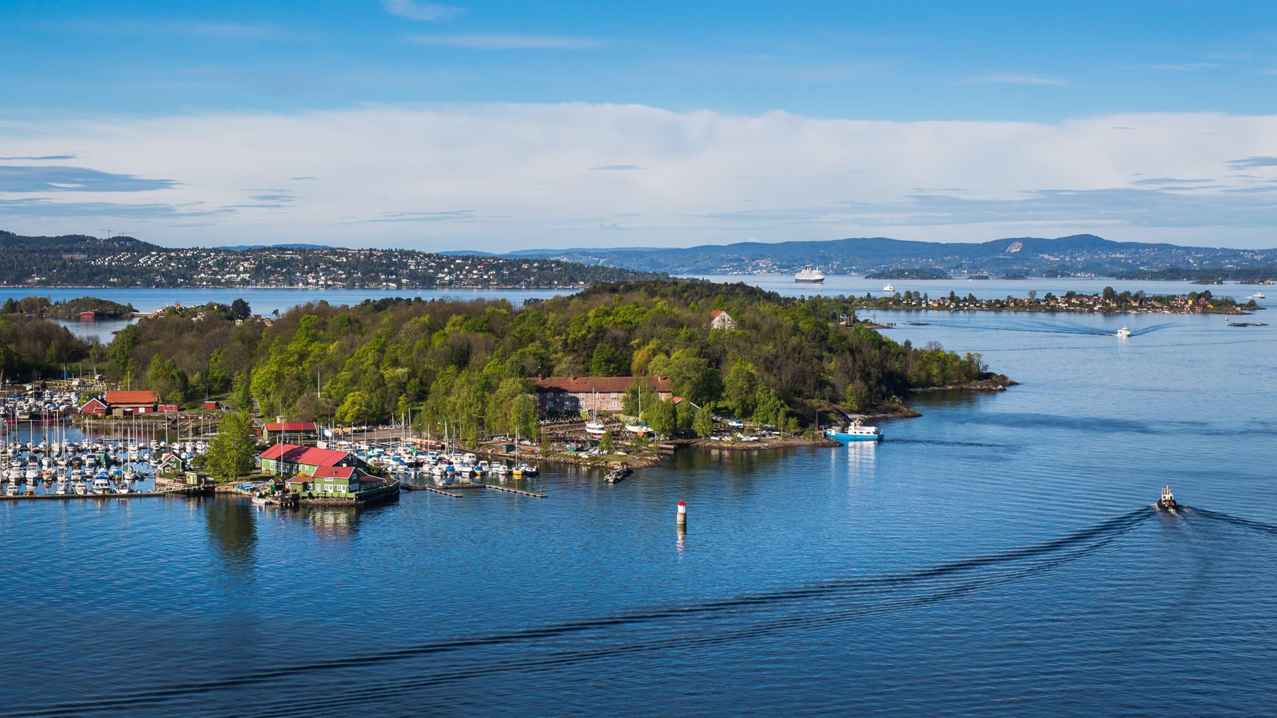Islands in the Oslofjord