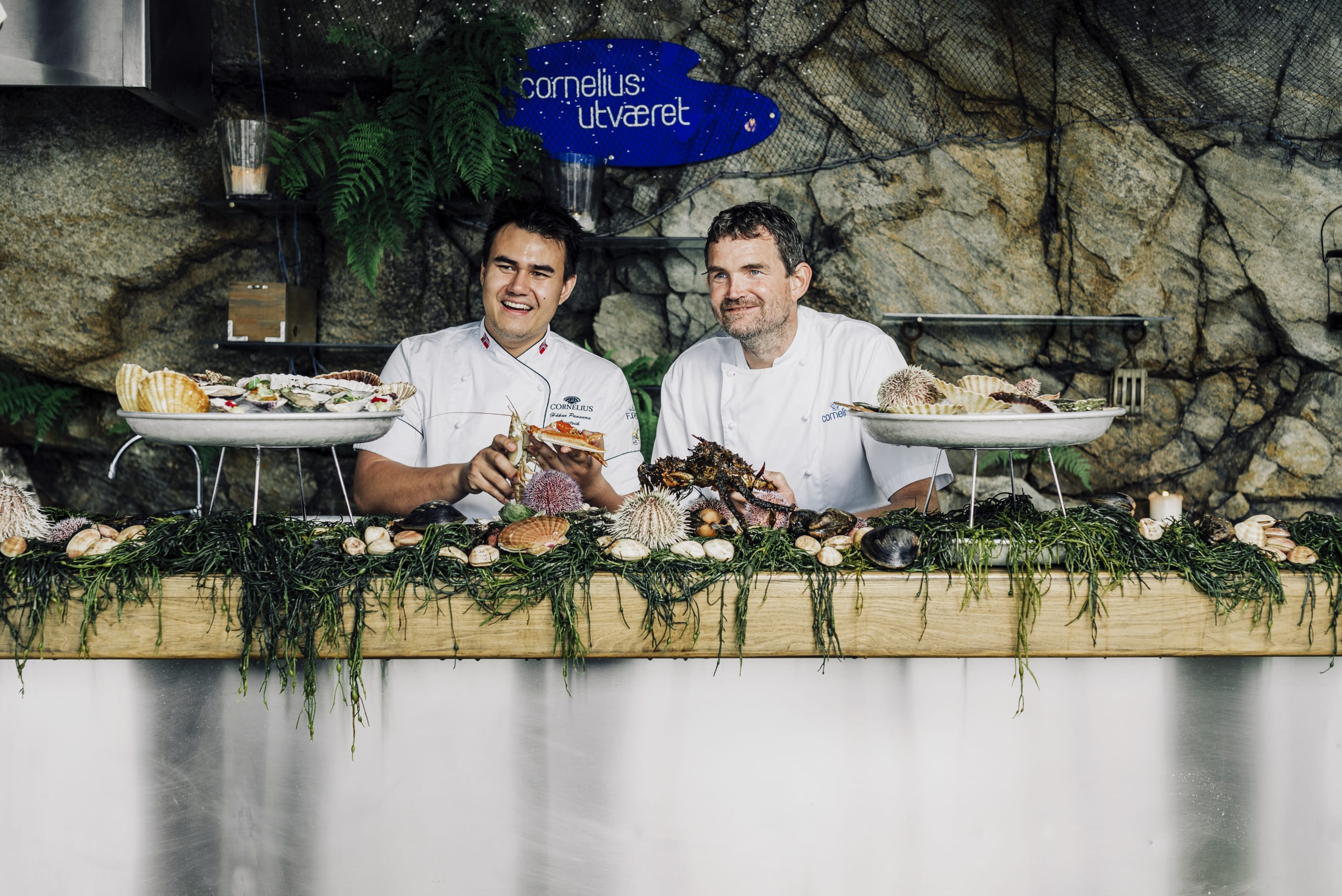 The chefs introducing local shellfish at the raw bar