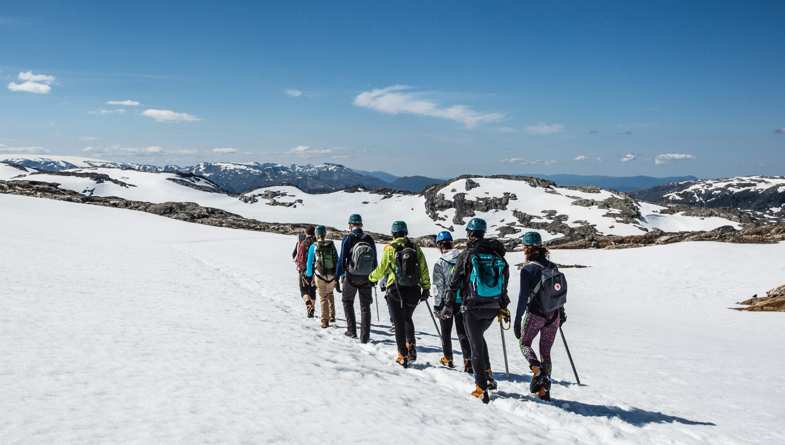 Glacier hiking at Folgefonna