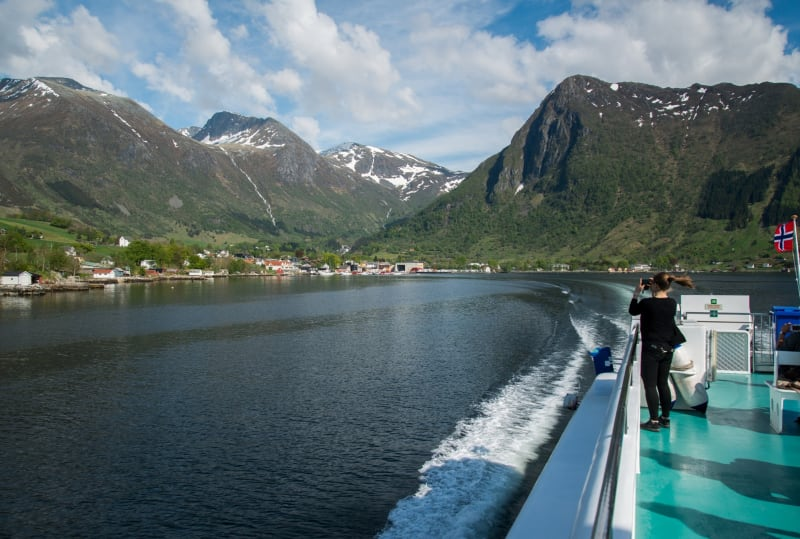 Fjord cruise on the Hardangerfjord
