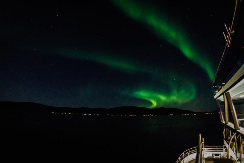 Aurora Borealis seen from Brim