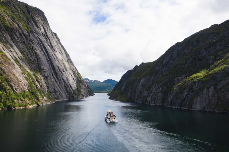 Silent Trollfjord cruise with Brim