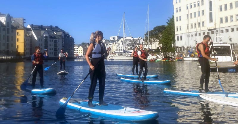 Introduction to SUP in Ålesund