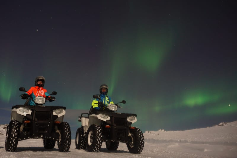 Northern Lights ATV safari