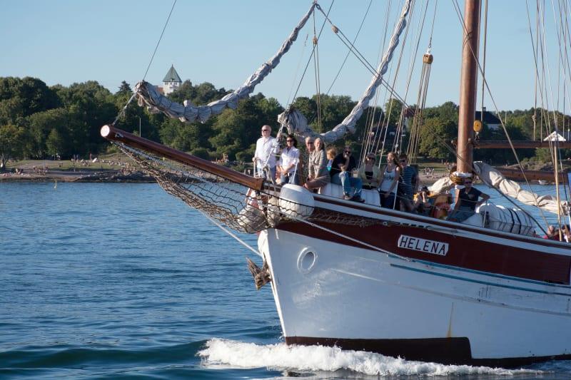 Sailship cruise on the Oslofjord
