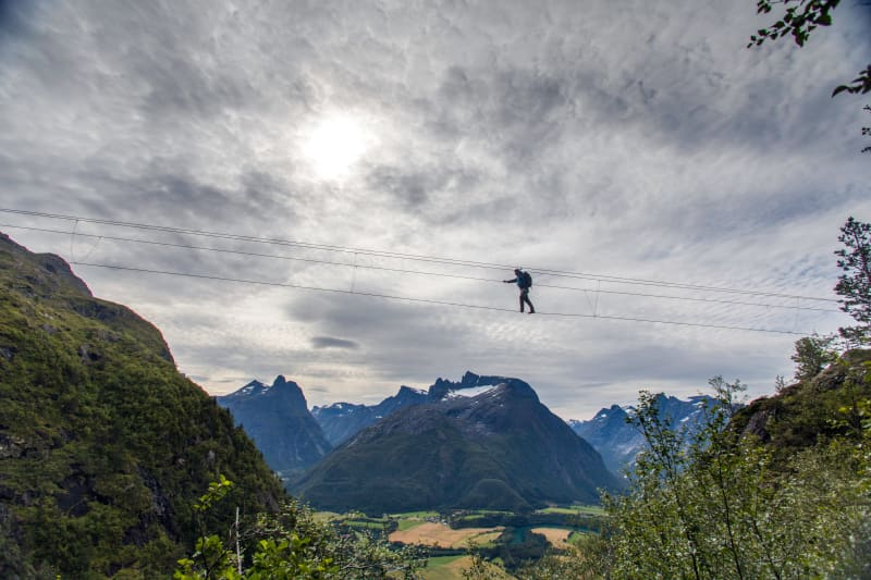 Via Ferrata in Åndalsnes