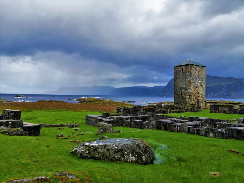 Selja Monastery on the west coast of Norway