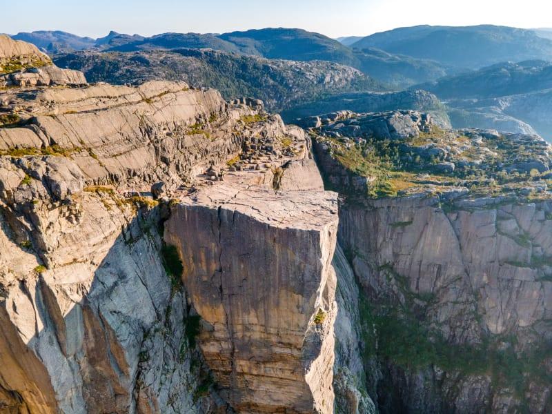Preikestolen plateau (Pulpit Rock)