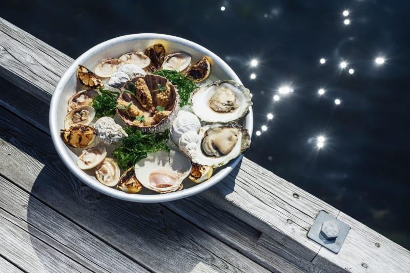 Seafood plate at Cornelius