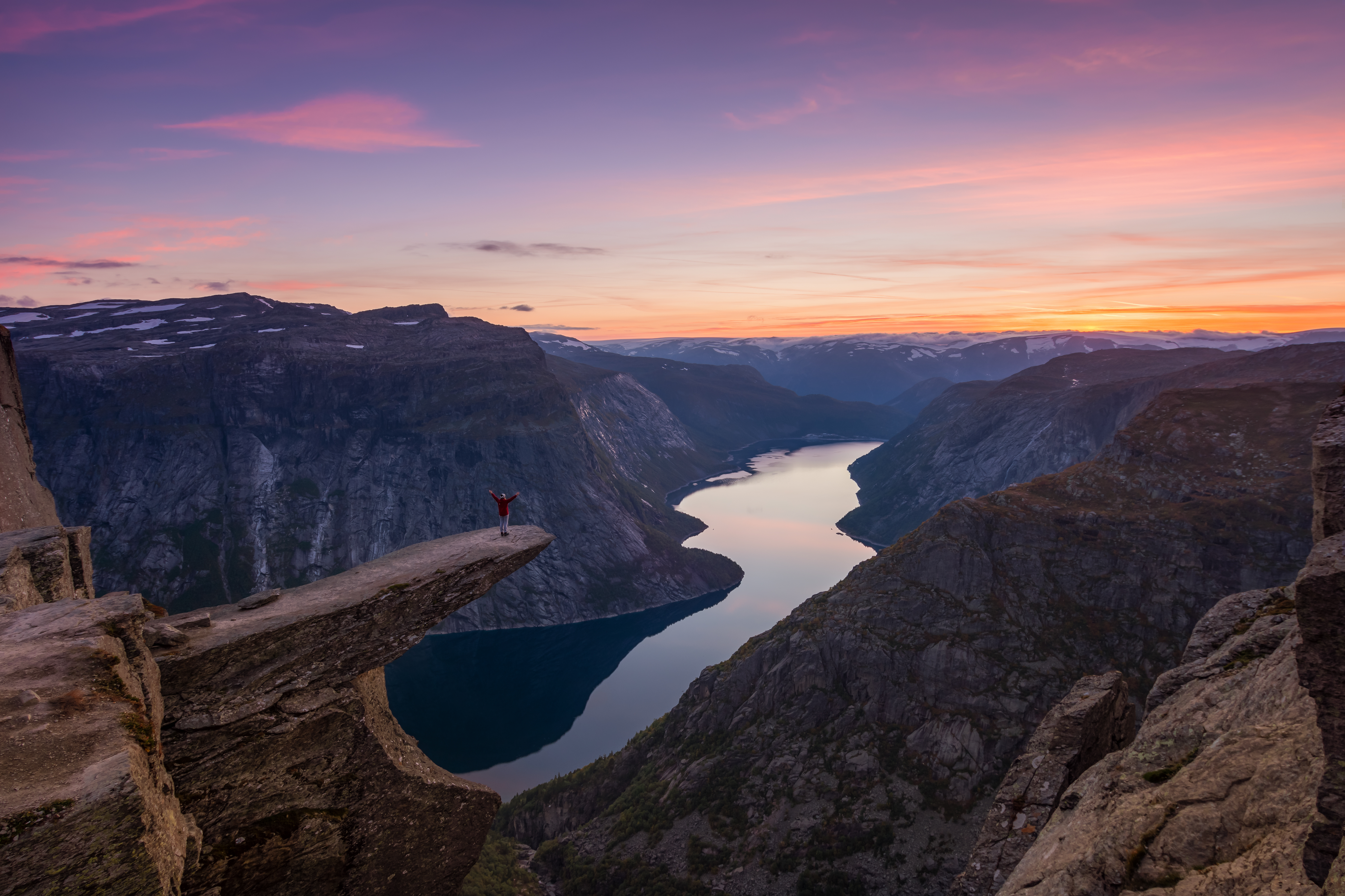 Trolltunga rock formation