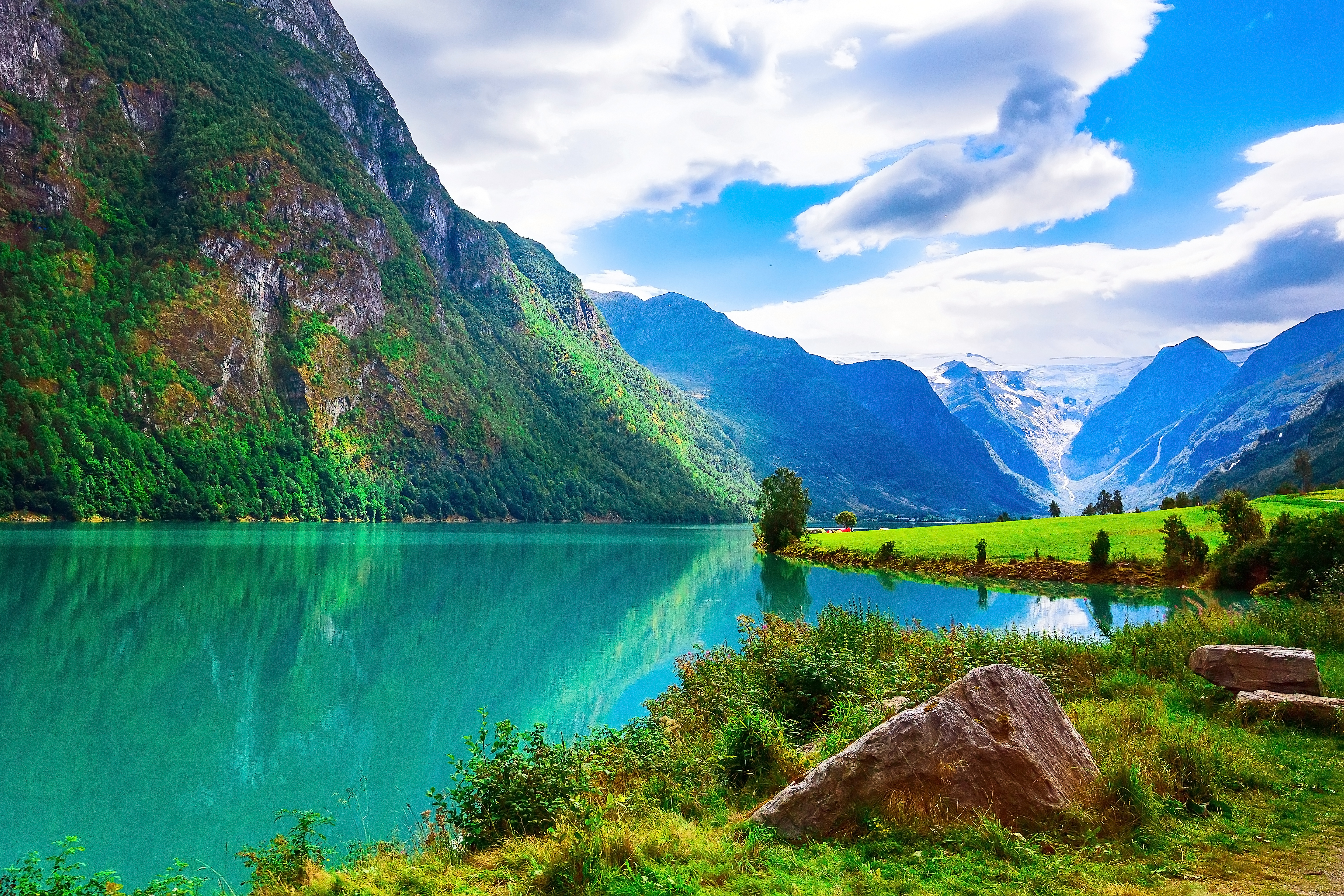 Nordfjord and Olden