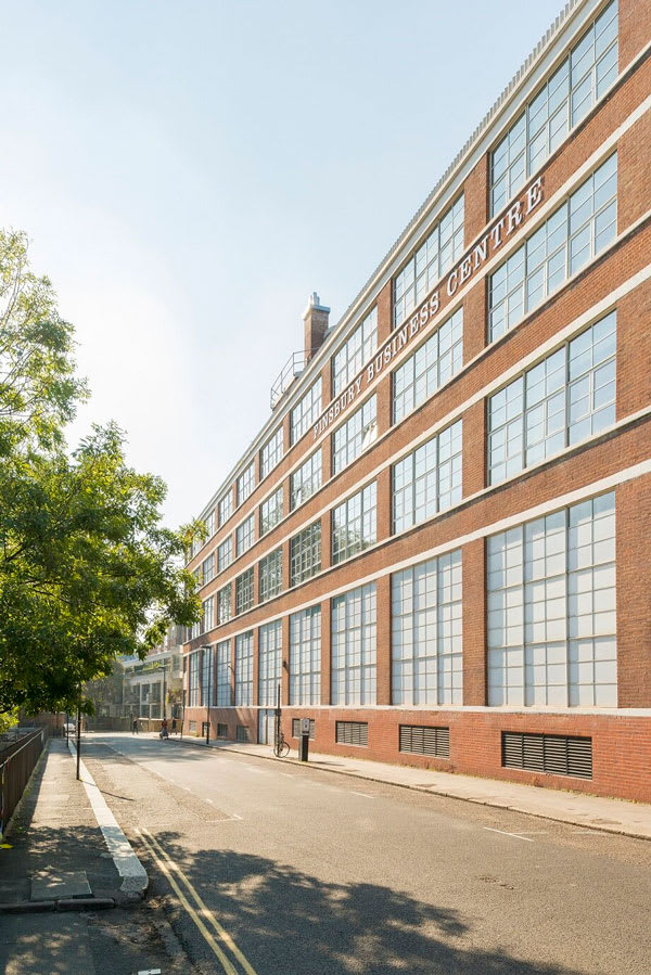 Forma virtual office London exterior building