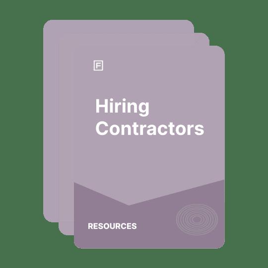 hiring contractor guide